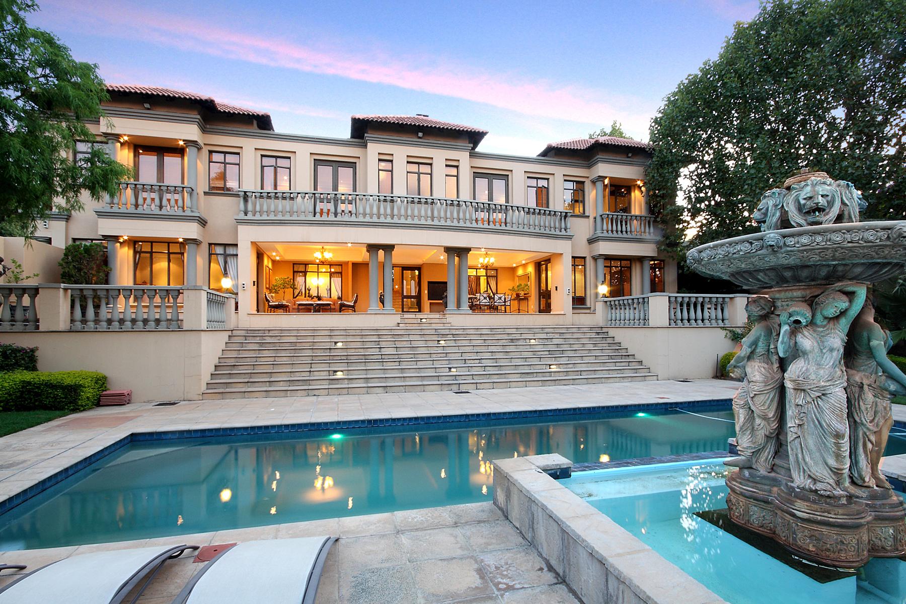 Villa per Vendita alle ore Riverclub Johannesburg, Gauteng, 2196 Sudafrica
