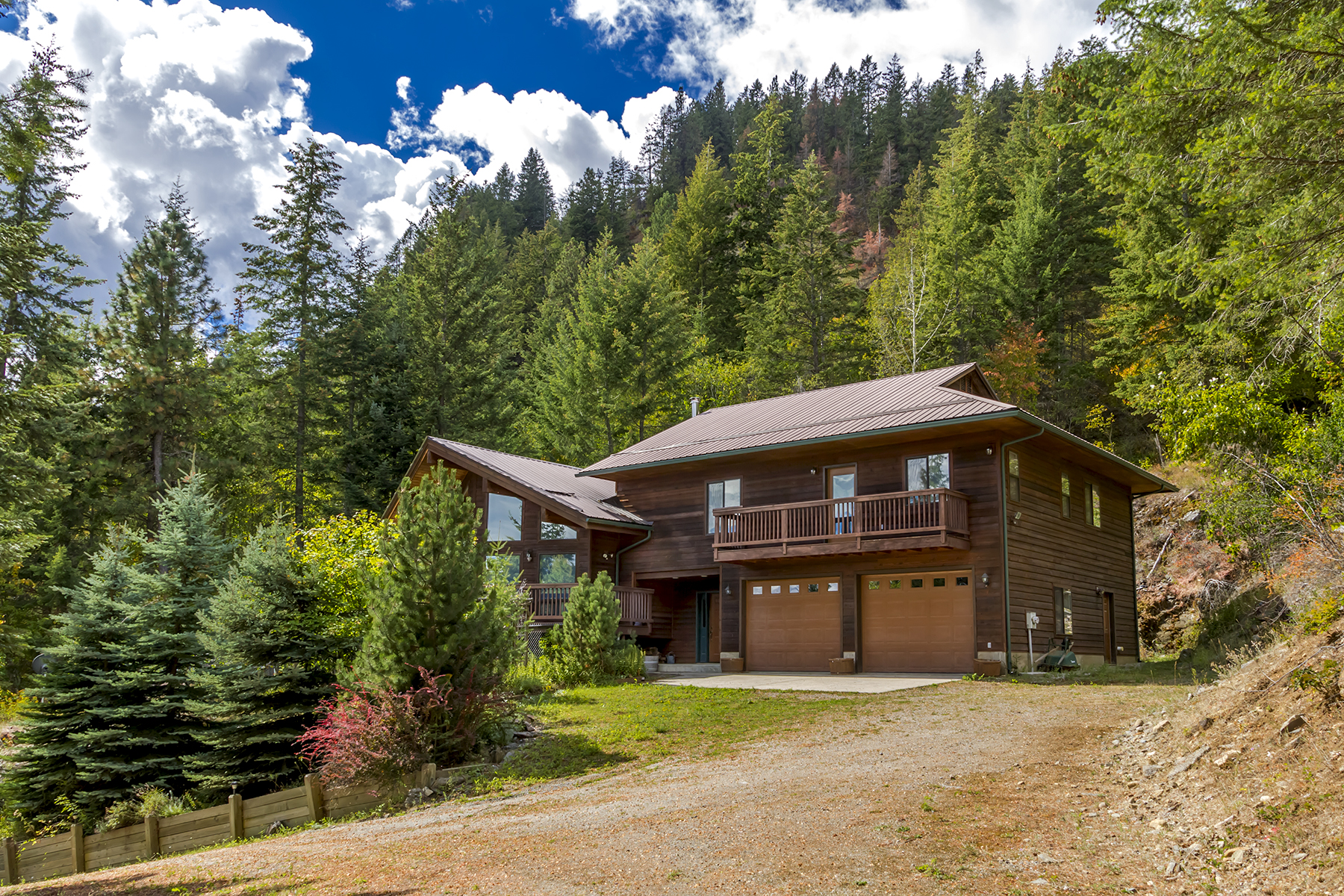 Casa Unifamiliar por un Venta en Beautiful Lake Pend Oreille Views 905 Midas Drive Sagle, Idaho, 83860 Estados Unidos