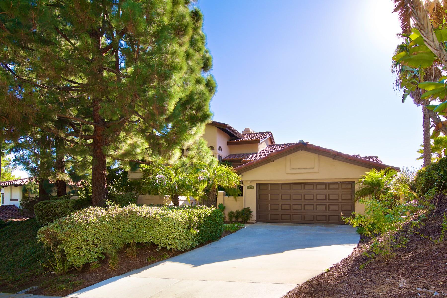 Частный односемейный дом для того Продажа на 14530 Caminito Saragossa Rancho Santa Fe, Калифорния 92067 Соединенные Штаты