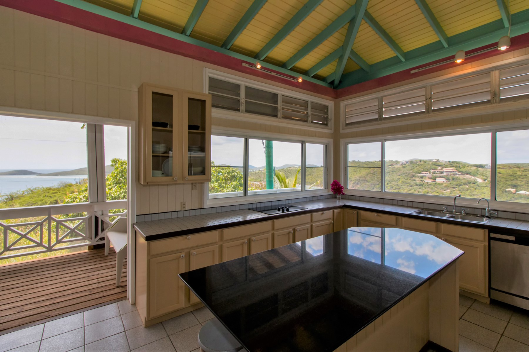 Additional photo for property listing at Inspiring Oceanview Privacy on Culebra Island 6 Punta Del Viento Estates Culebra, Puerto Rico 00775 プエルトリコ