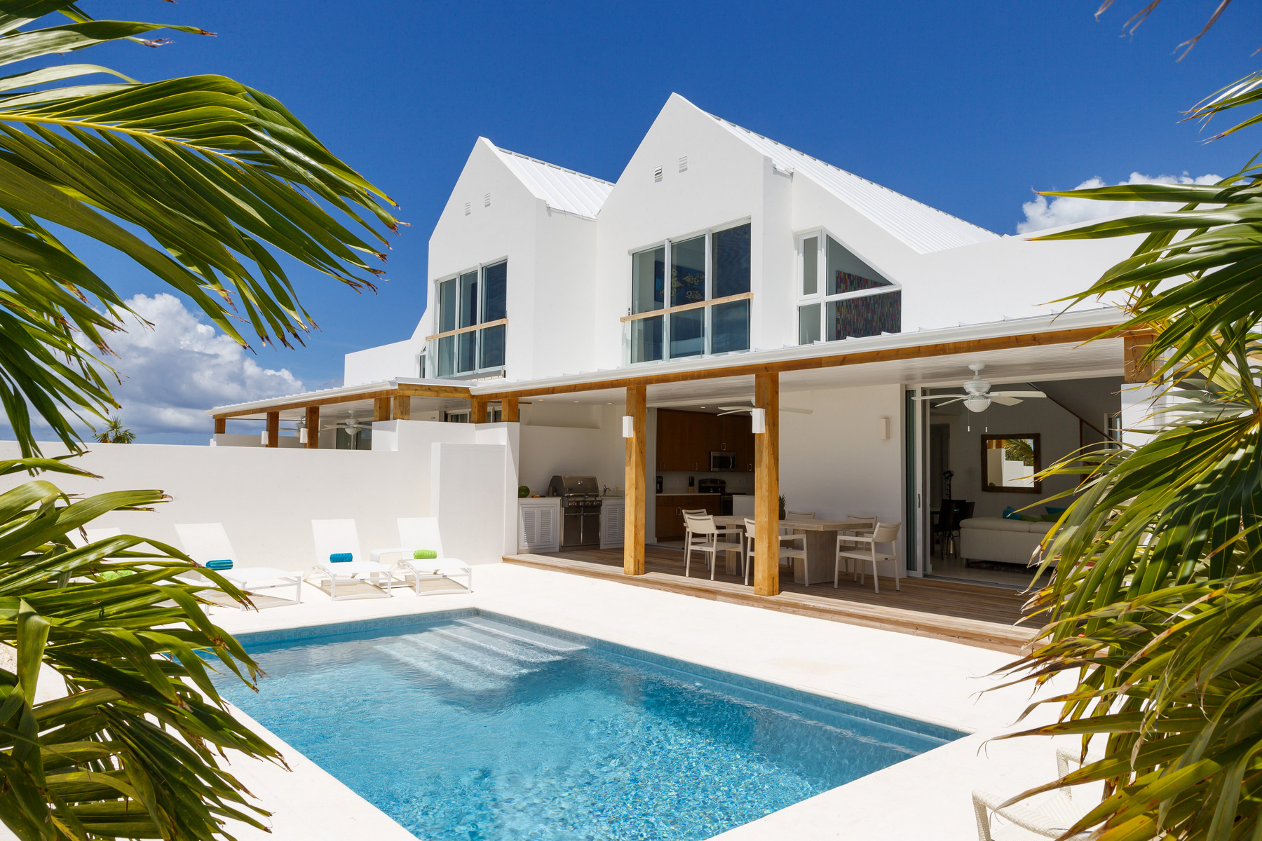 Additional photo for property listing at Sunset Beach Villas - Design A Gardenview Leeward, Providenciales TC Islas Turcas Y Caicos