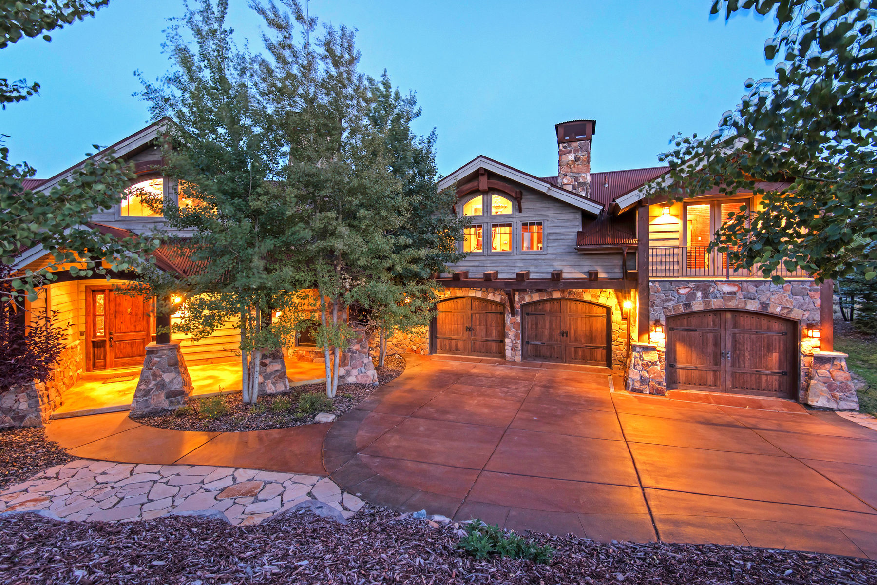 Single Family Home for Sale at Traditional Elegance In Promontory's Most Exclusive Neighborhood 8450 N Sunrise Lp Park City, Utah, 84098 United States