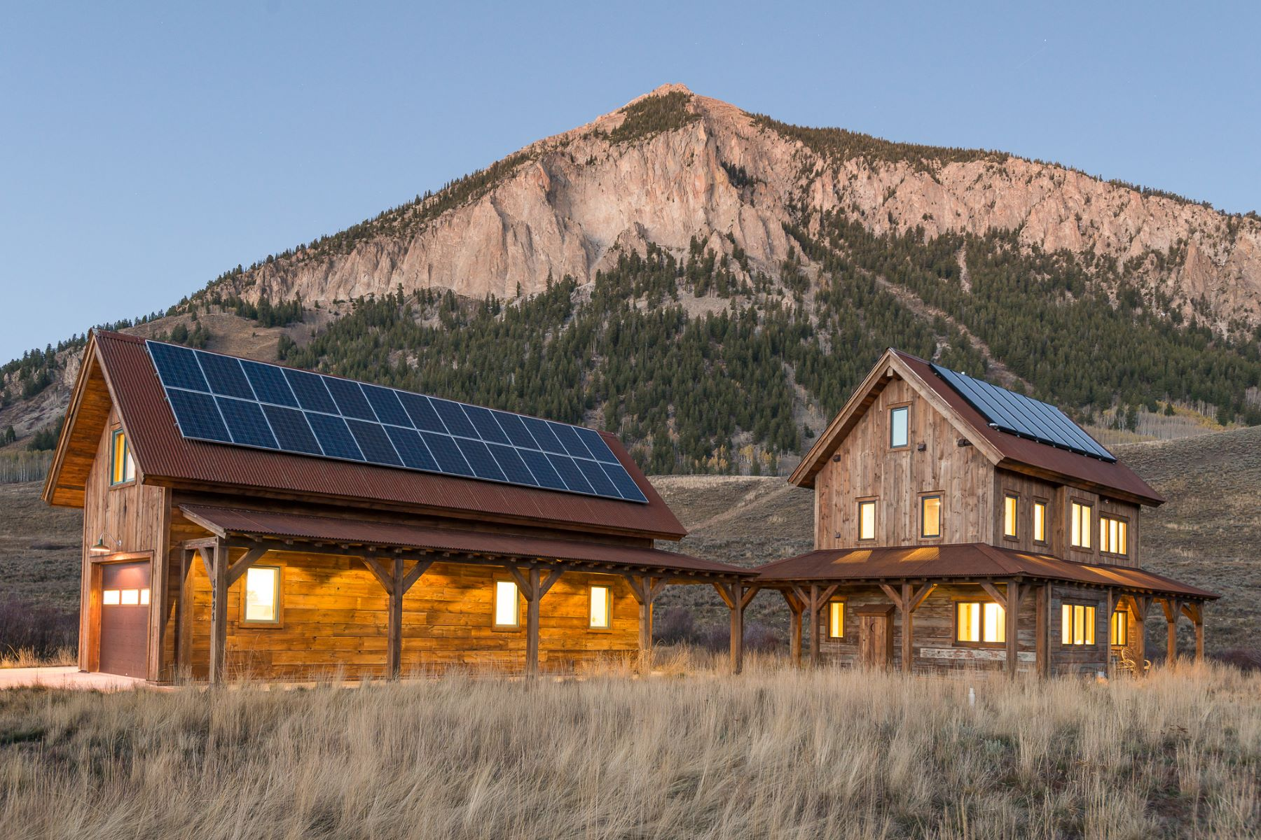 Single Family Home for Sale at Harmonious Luxury Home 1021 McCormick Ranch Road Crested Butte, Colorado 81224 United States