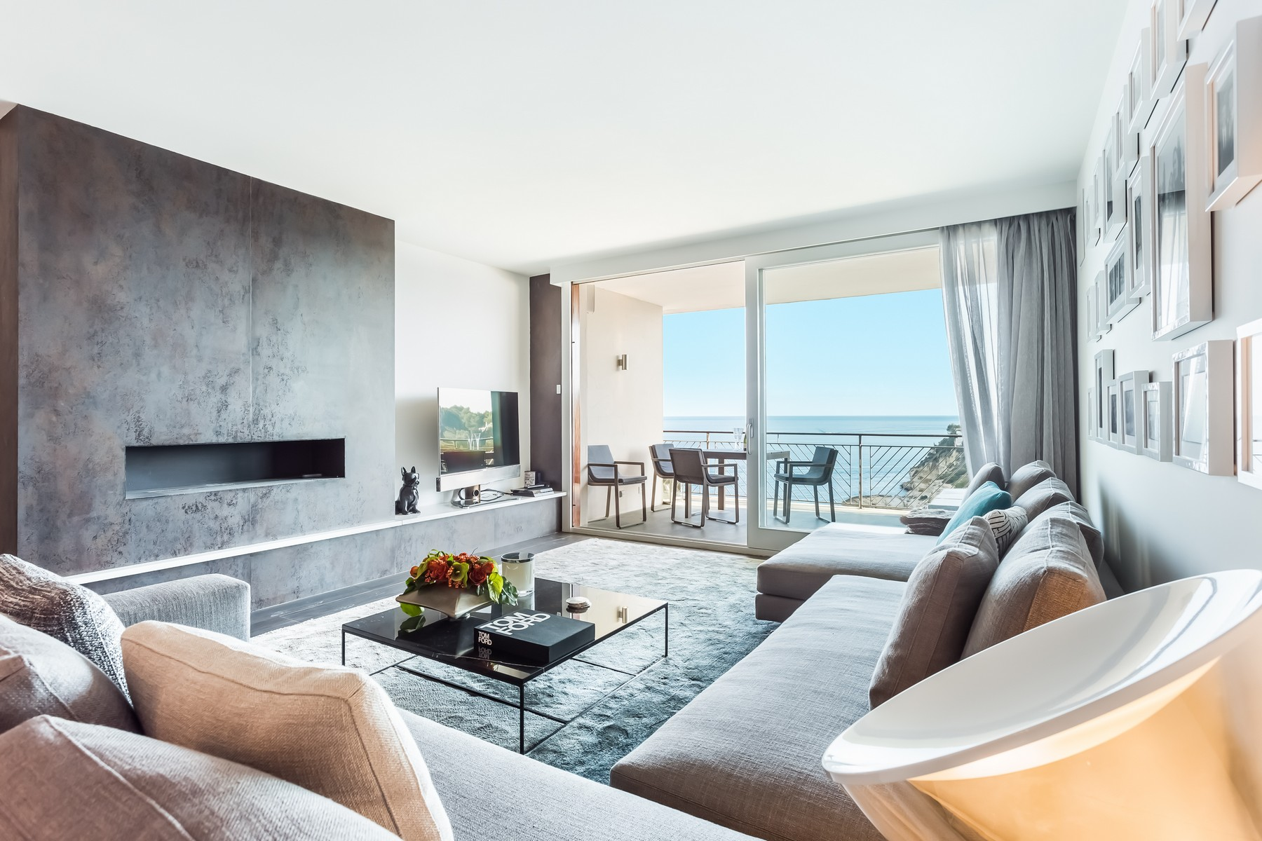 Wohnung für Verkauf beim Luxurious seafront penthouse in Sol de Mallorca Sol De Mallorca, Mallorca, 07180 Spanien