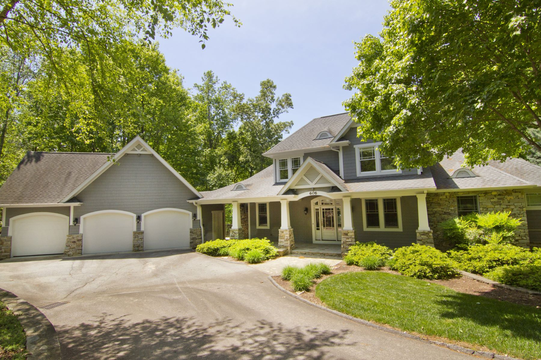 Single Family Home for Sale at Three Story Waterfront Home with Beautiful Western Lake Views 606 Wind Flower Drive The Cliffs At Keowee Vineyards, Sunset, South Carolina, 29685 United States