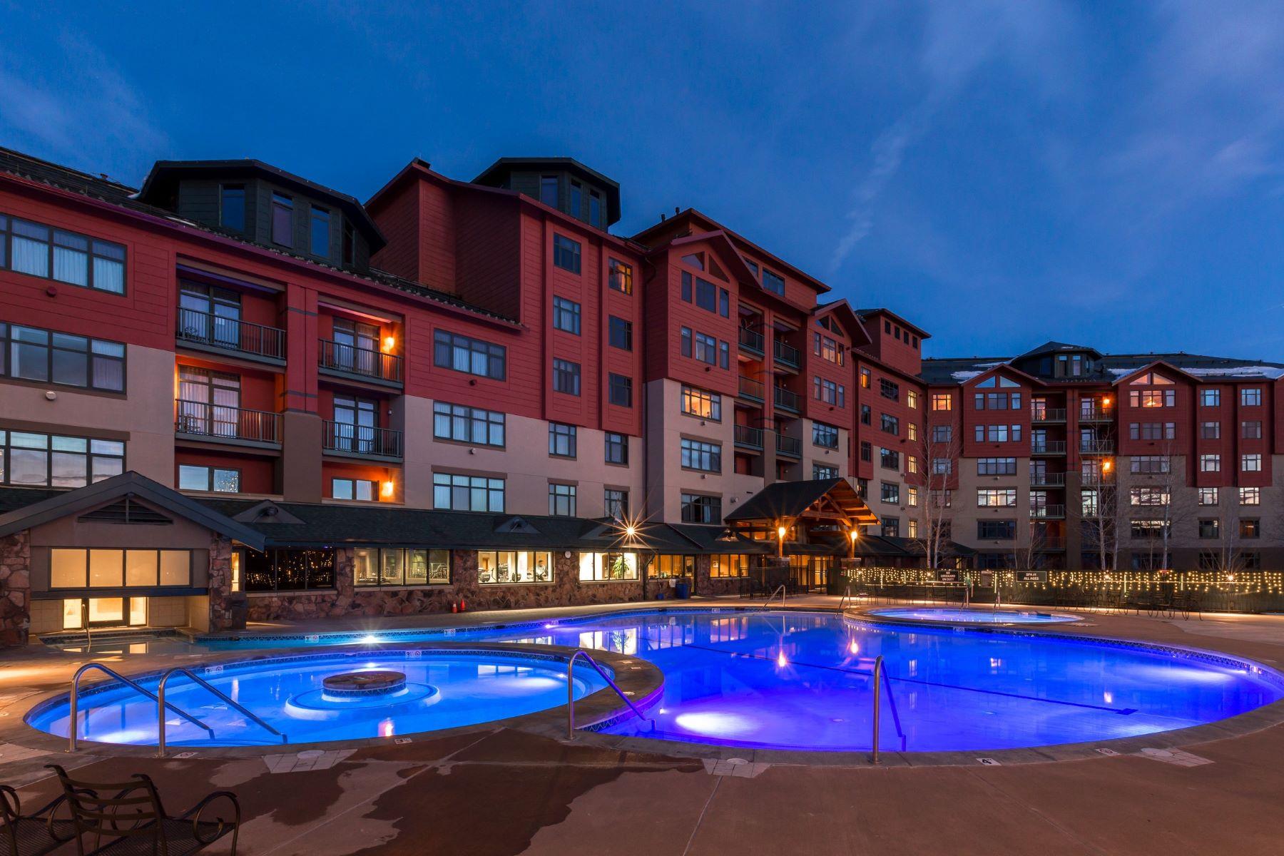 Copropriété pour l Vente à Penthouse 705 Steamboat Grand 2300 Mt. Werner Circle 705 Steamboat Springs, Colorado, 80487 États-Unis