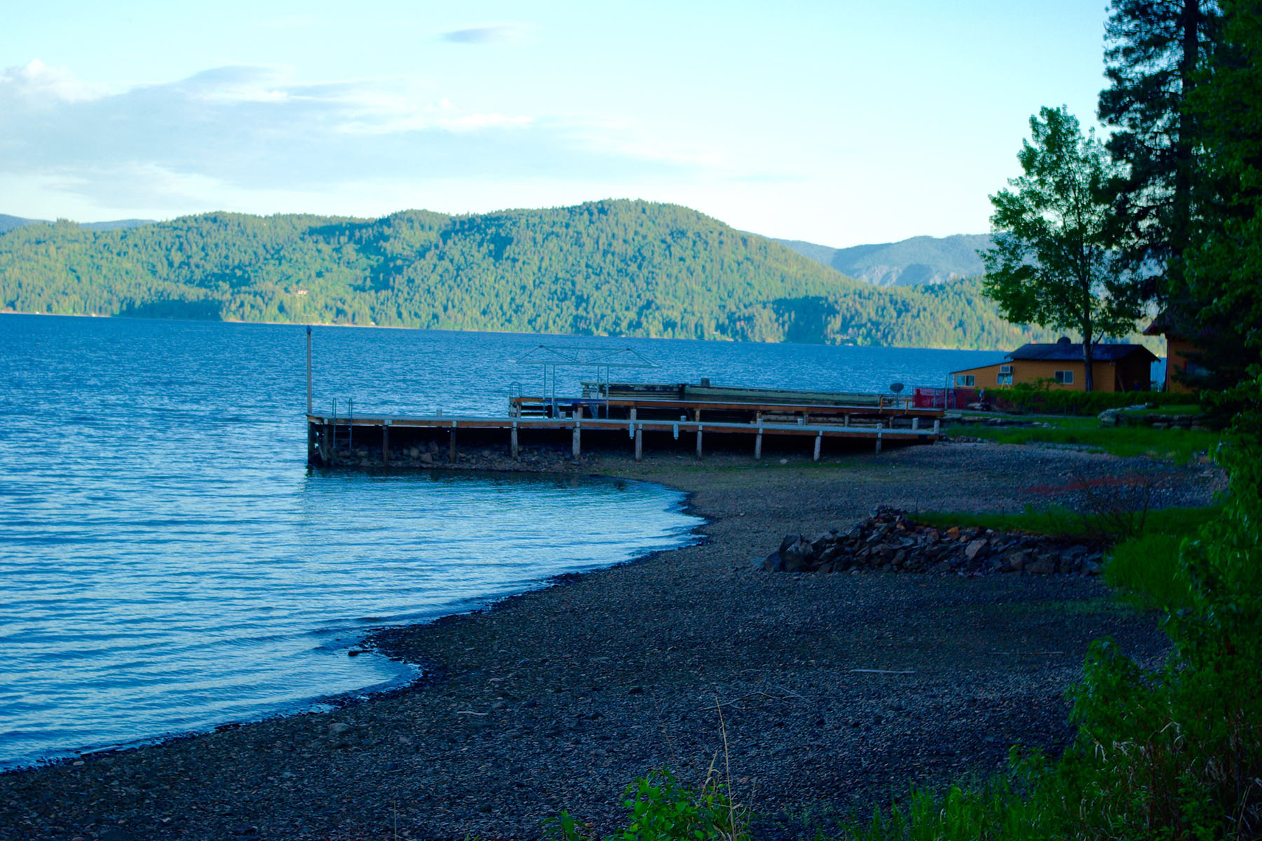 Additional photo for property listing at A RARE OPPORTUNITY TO BUY TWO WATERFRONT PARCELS Tax 29 W Oden Bay Rd Sandpoint, Idaho 83864 United States