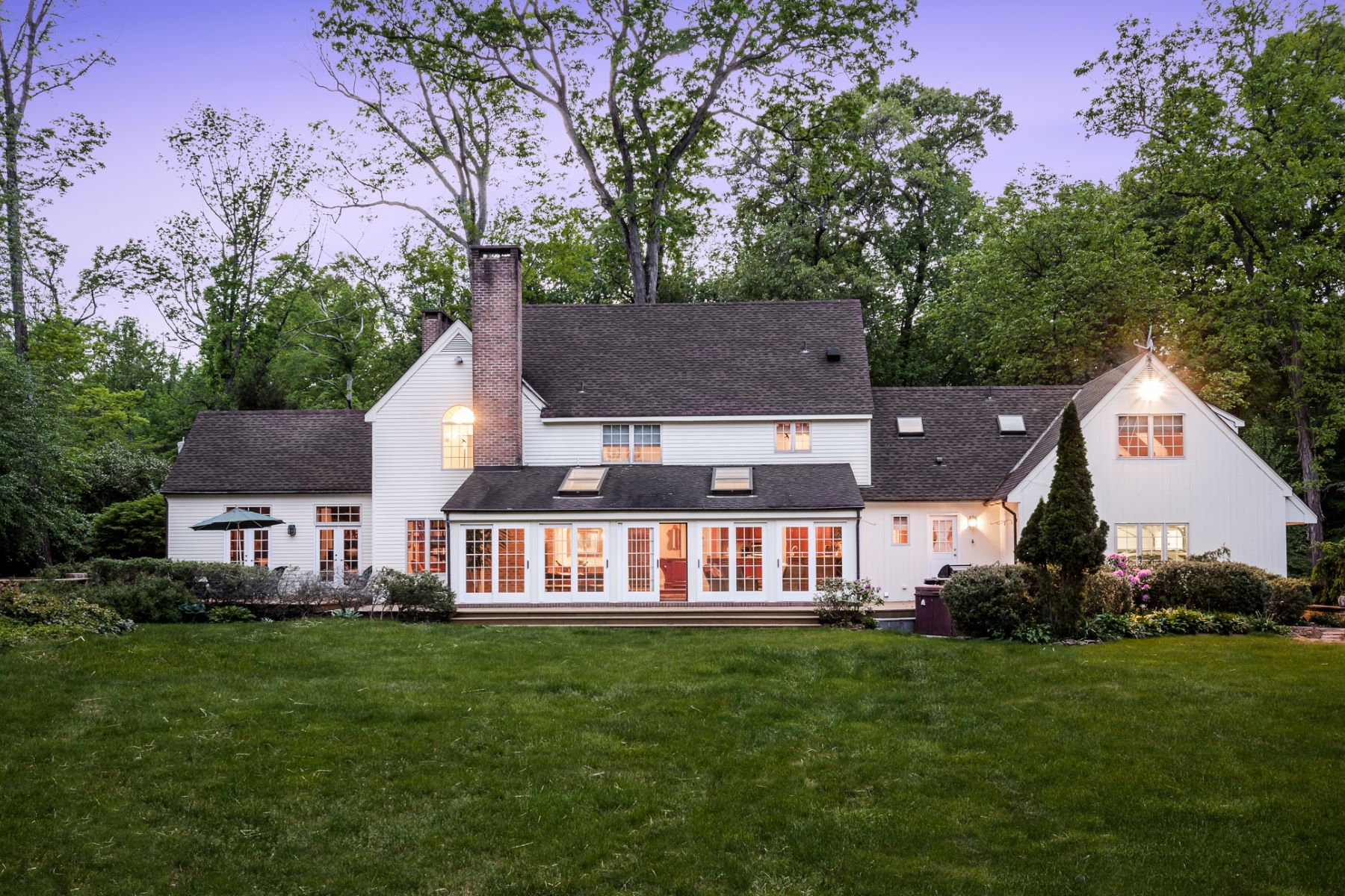Eensgezinswoning voor Verkoop een t A Majestic Setting for Distinctive Lawrence Estate - Lawrence Township 4497 Province Line Road, Princeton, New Jersey 08540 Verenigde StatenIn/Rond: Lawrence Township