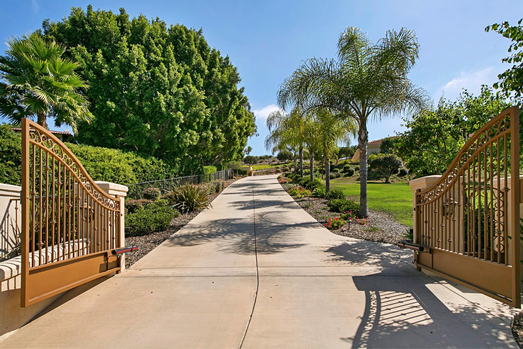 Casa Unifamiliar por un Venta en 17206 El Caporal Rancho Santa Fe, California 92067 Estados Unidos