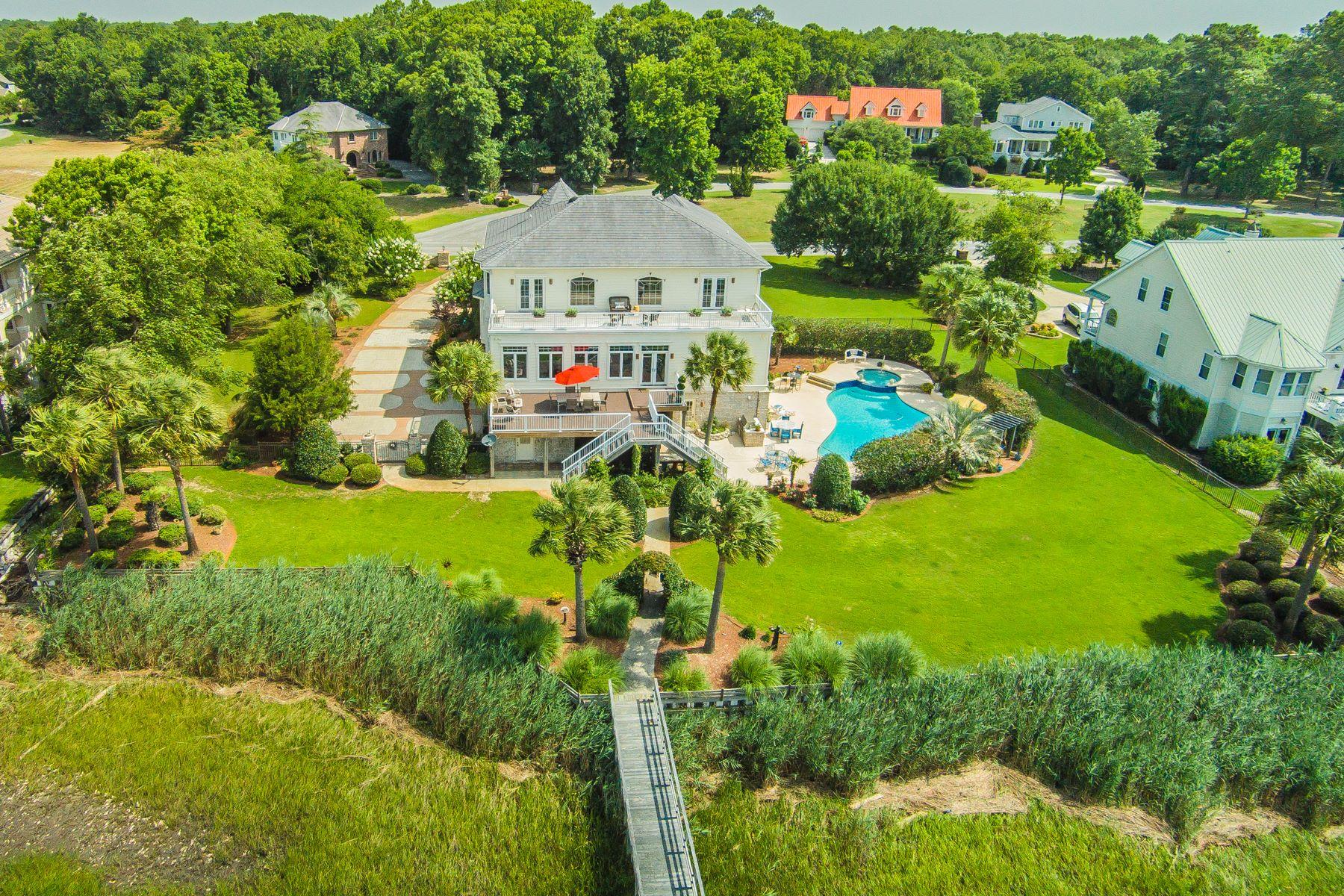 Vivienda unifamiliar por un Venta en Luxurious Waterfront Haven 2769 Pinecrest Drive Southport, Carolina Del Norte 28461 Estados Unidos