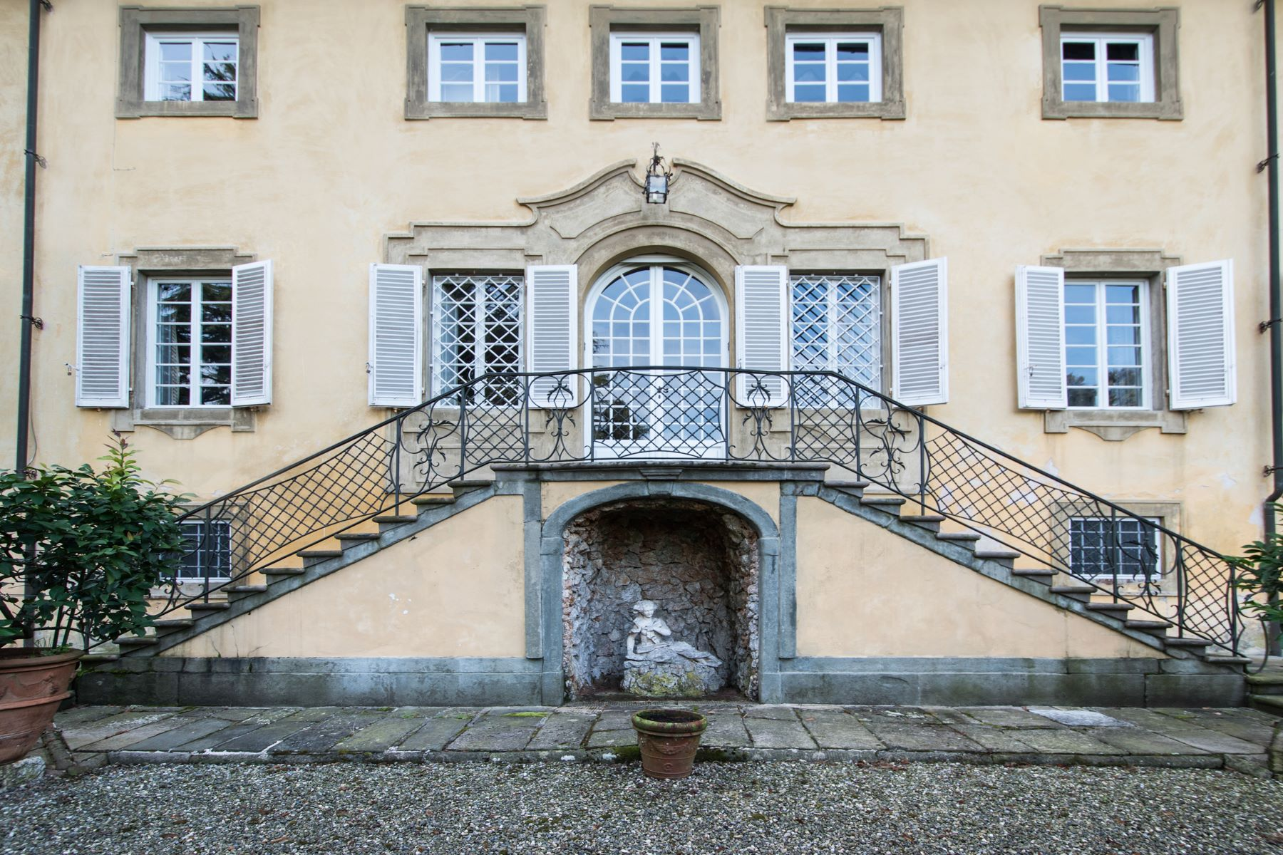 Single Family Home for Sale at Charming 18th century villa in Lucca countryside Montuolo Lucca, 55100 Italy
