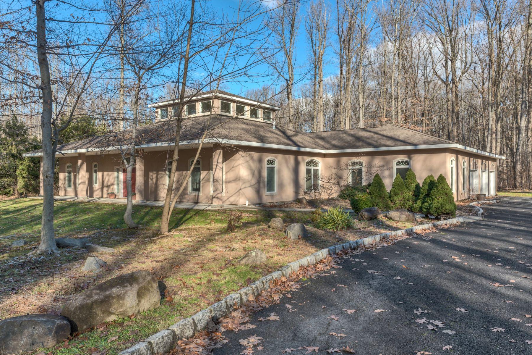 独户住宅 为 销售 在 Custom Contemporary 23 Heyhoe Woods Rd. 帕利赛兹, 纽约州 10964 美国