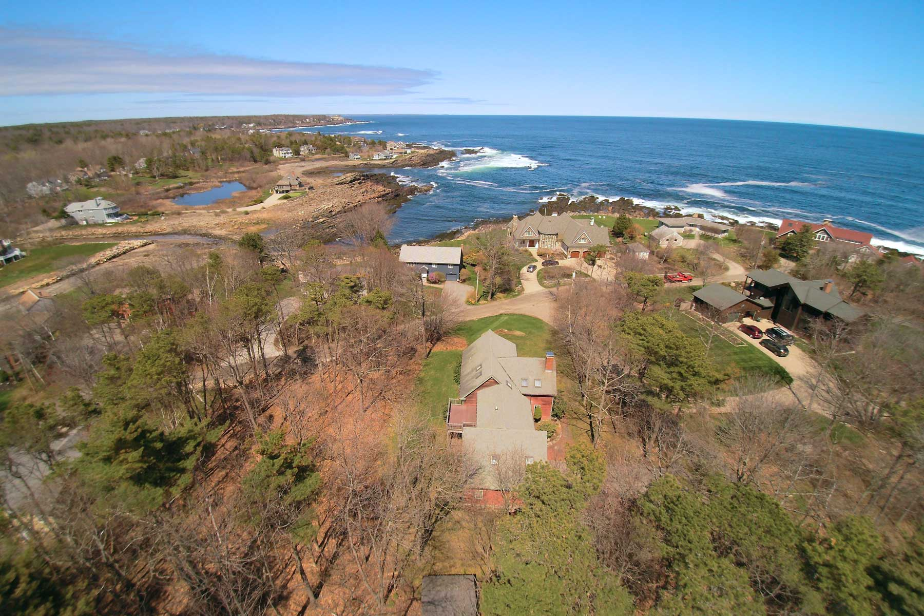 Single Family Home for Sale at Water View Contemporary in Cape Neddick 33 Adams Road York, Maine, 03902 United States