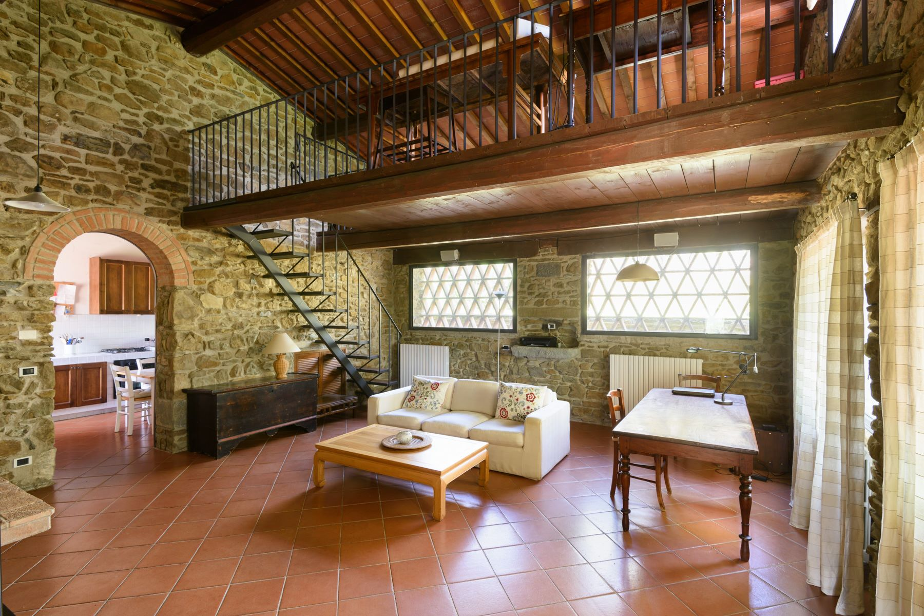 Additional photo for property listing at Country retreat in Chianti Aretino Pergine Valdarno, Arezzo Italien