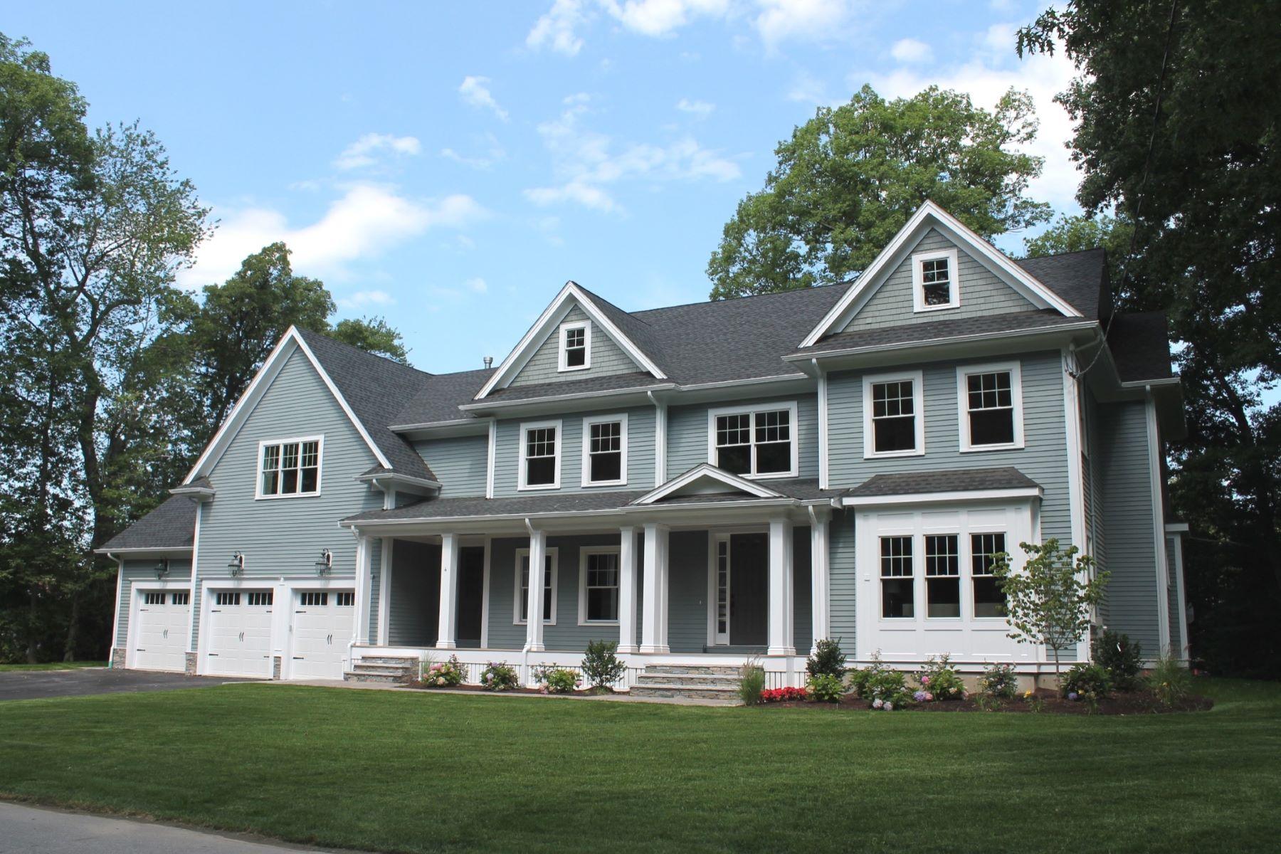 Maison unifamiliale pour l Vente à Exquisite New Construction 4 Blodgett Road Lexington, Massachusetts, 02420 États-Unis
