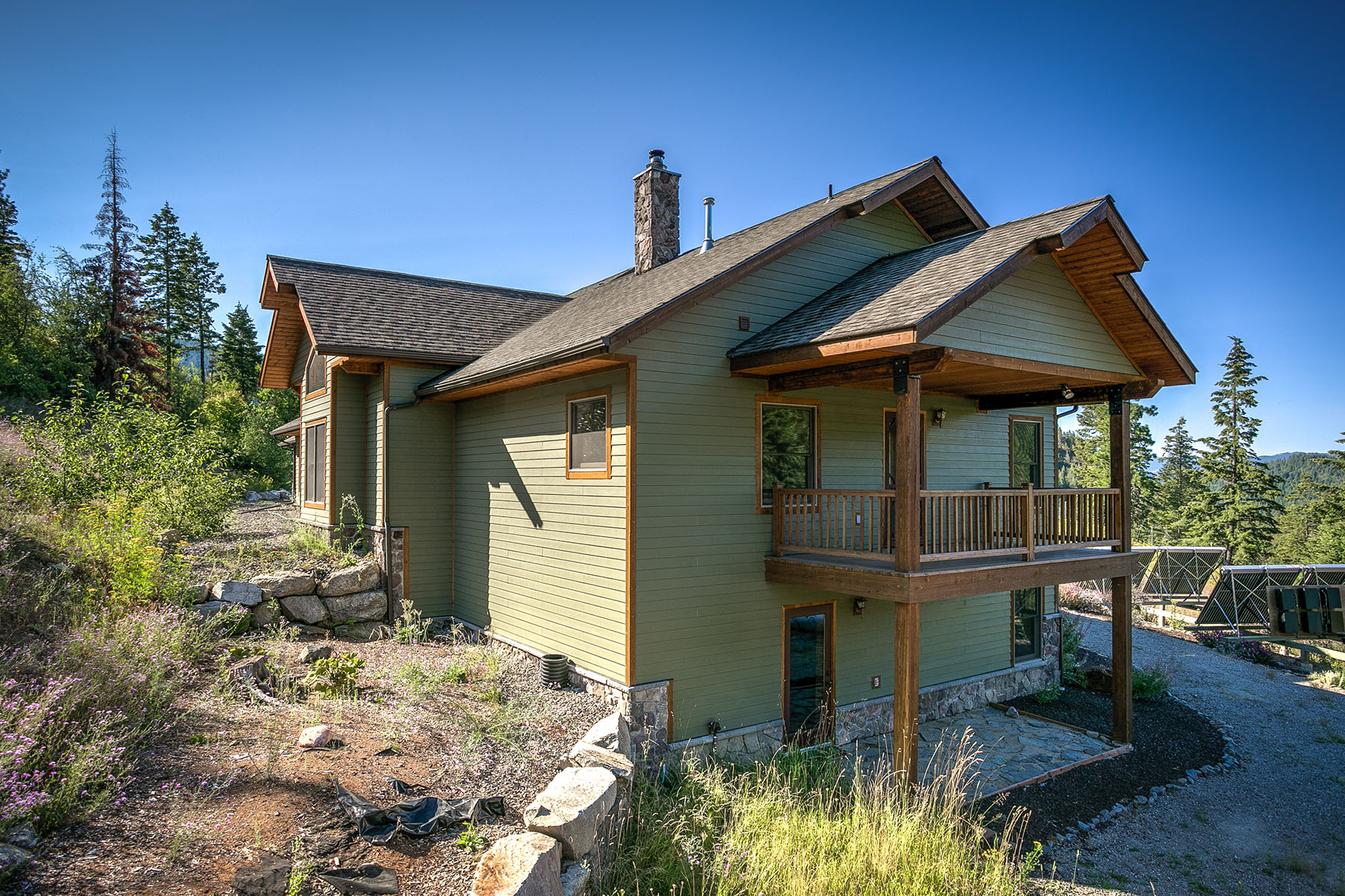 Maison unifamiliale pour l Vente à Luxurious Wilderness Sanctuary 0 Trout Creek Ranch Rd Sandpoint, Idaho, 83864 États-Unis