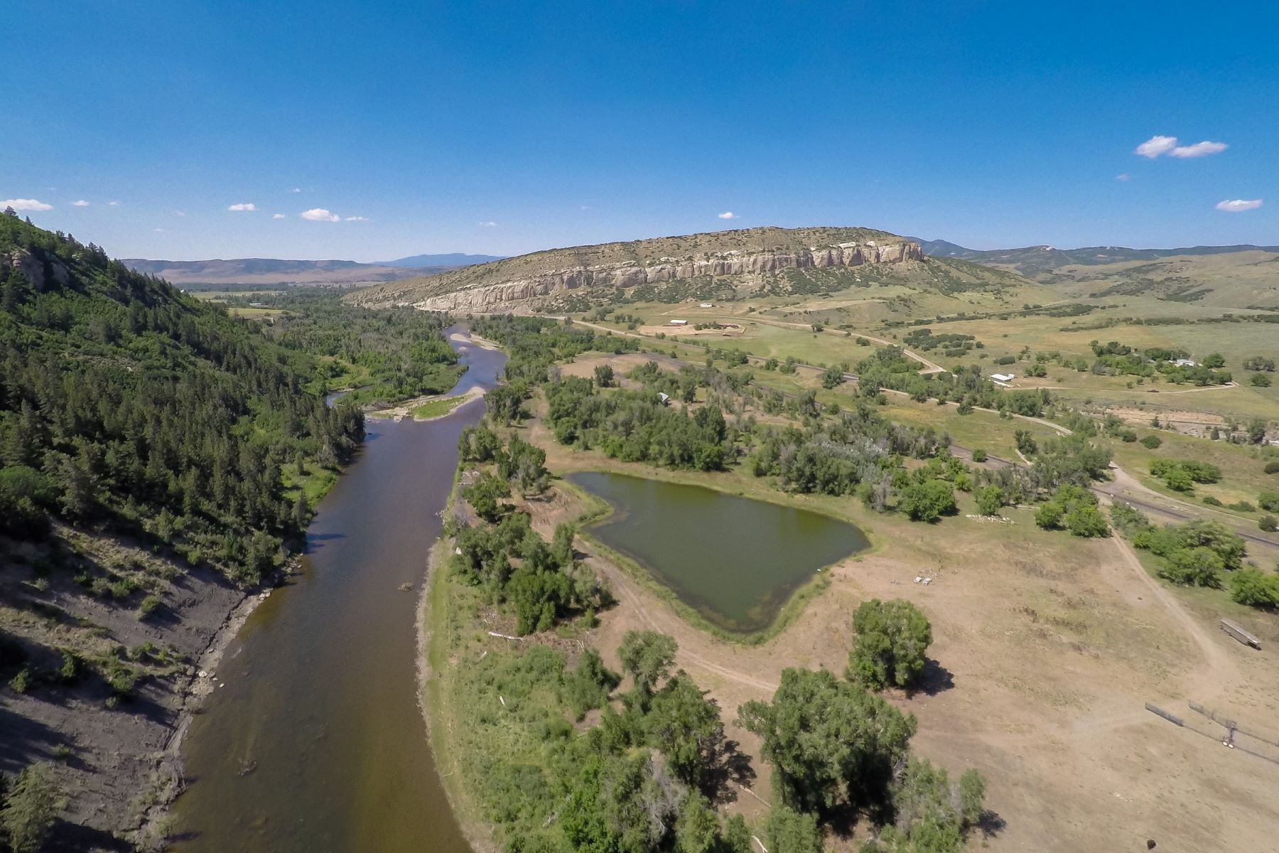 Farm / Ranch / Plantation for Sale at Mt. Harris on the Yampa River 15235 US 40 Steamboat Springs, Colorado, 80487 United States