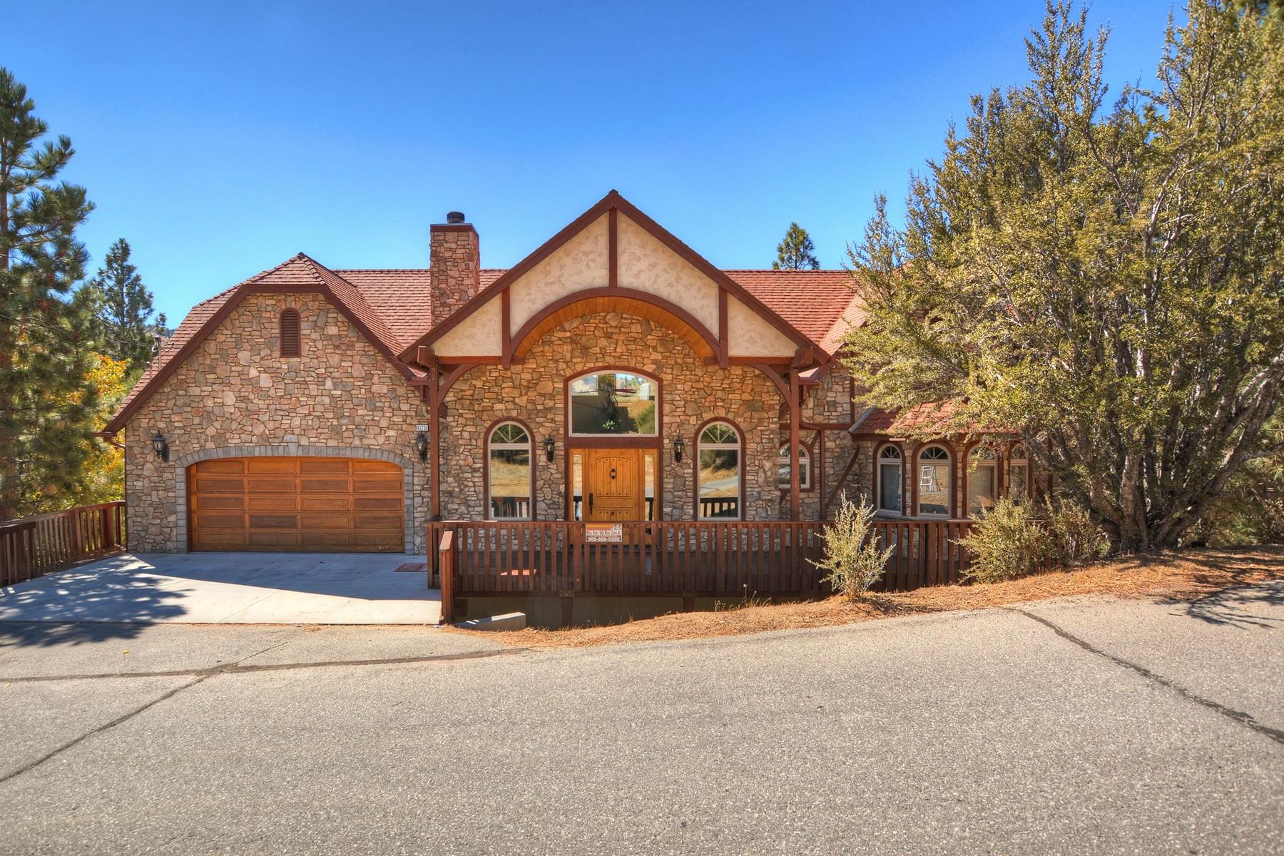 独户住宅 为 销售 在 43731 Canyon Crest, Big Bear Lake Ca. 92315 大熊湖, 加利福尼亚州 92315 美国