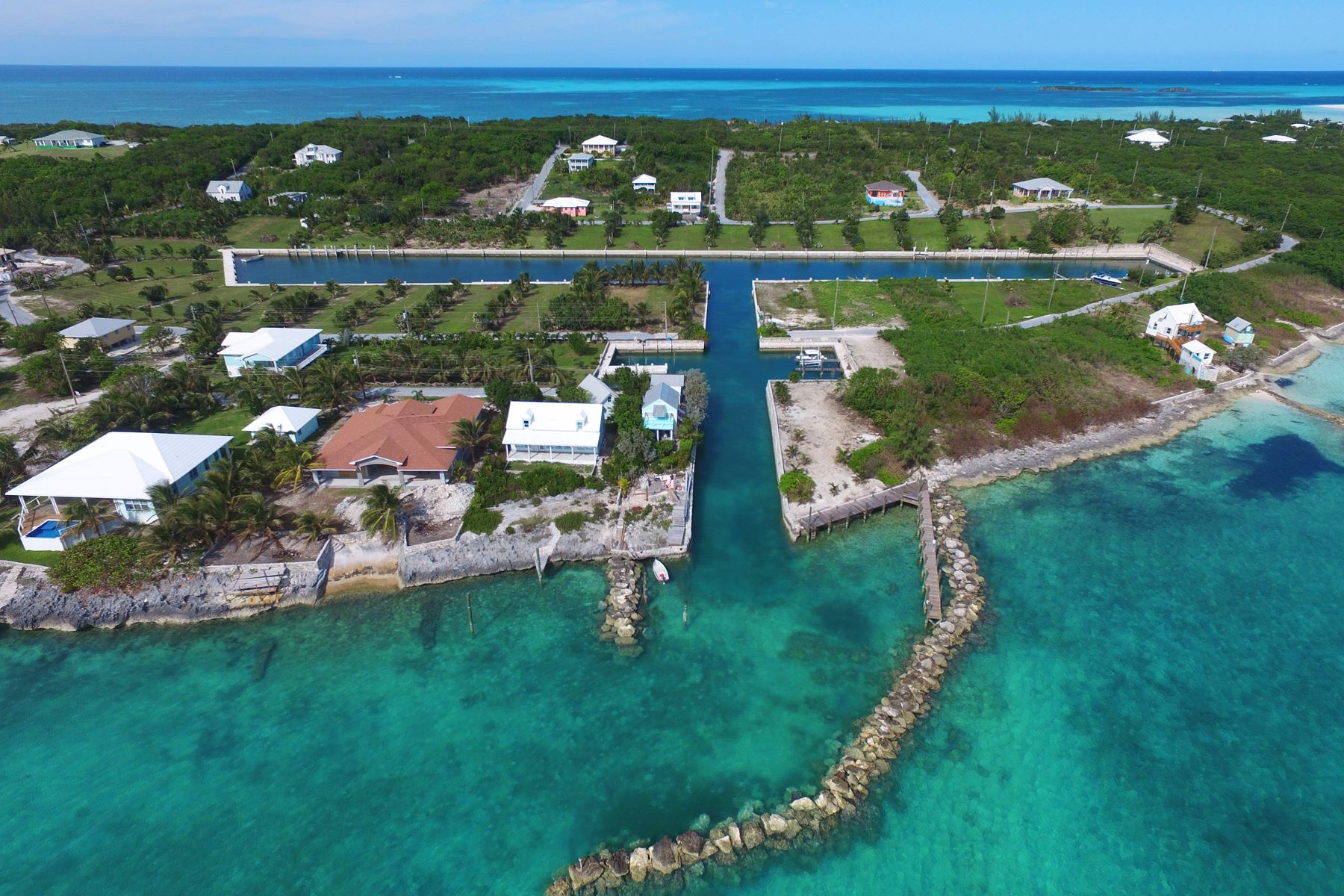 Land for Sale at Canal Lots 10 & 11 - Pelican Bay Spanish Wells, Eleuthera Bahamas