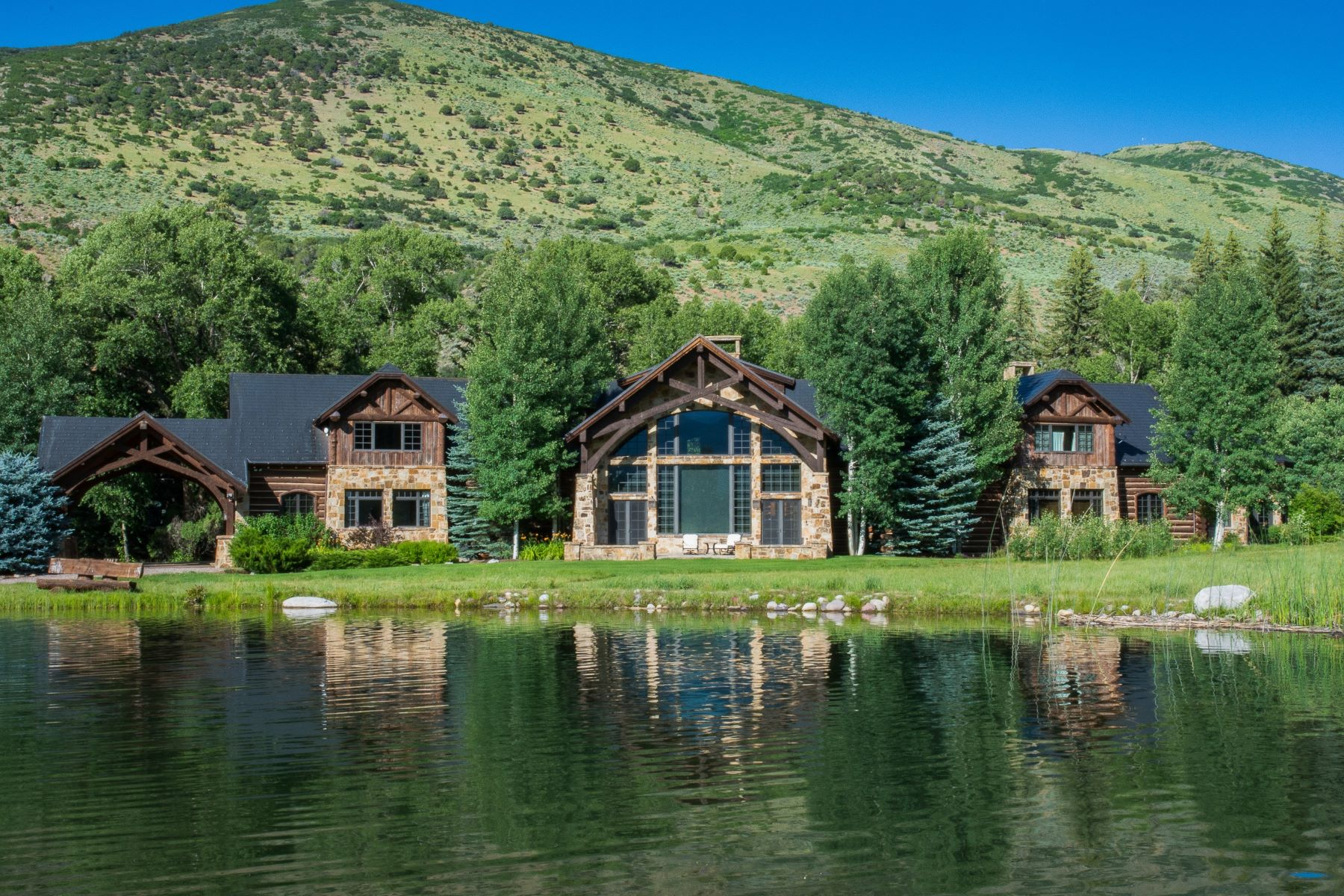 Granjas / Hacienda / Platanción por un Venta en Spectacular Ranch on Snowmass Creek 2280/2288 Snowmass Creek Road Aspen, Colorado 81611 Estados Unidos