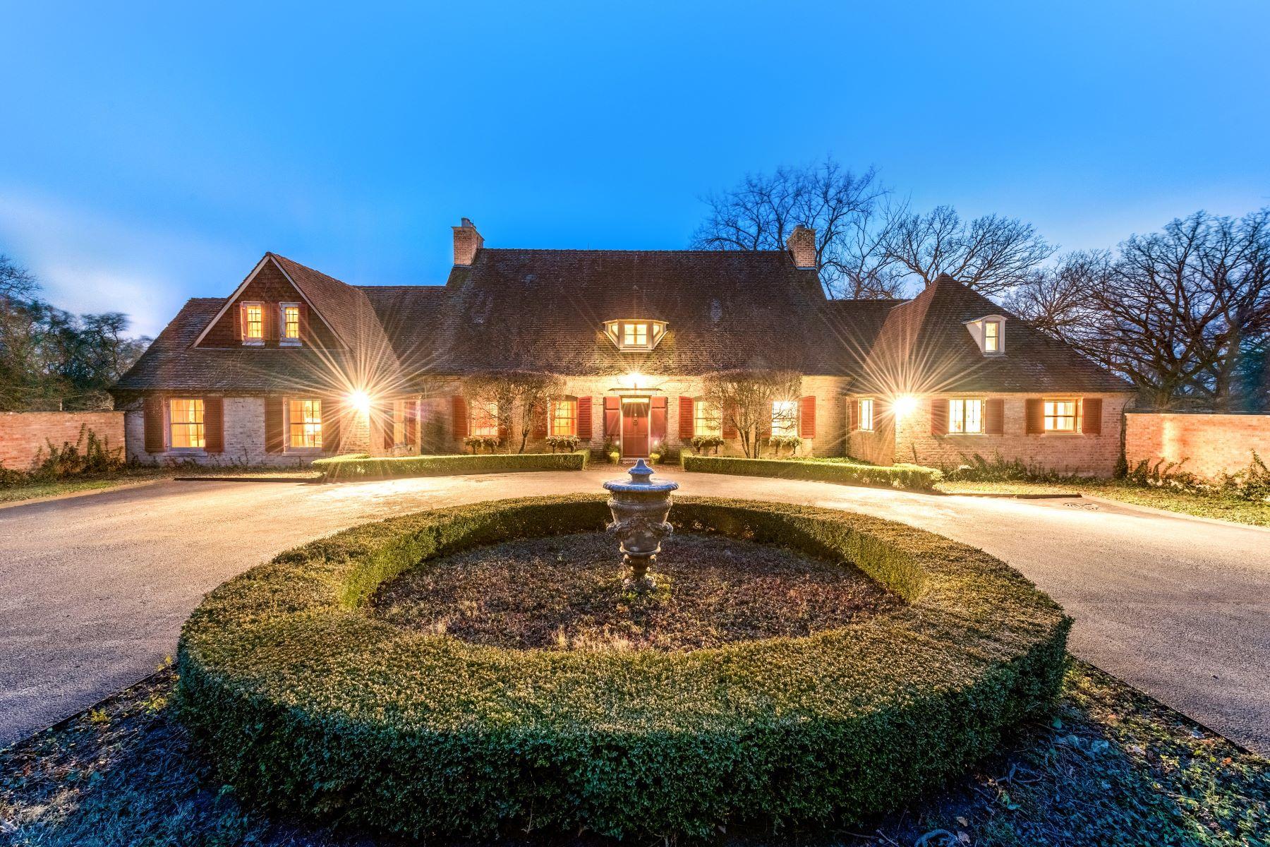 """Nhà ở một gia đình vì Bán tại """"Chaumont"""" 291 Donlea Road Barrington Hills, Illinois, 60010 Hoa Kỳ"""
