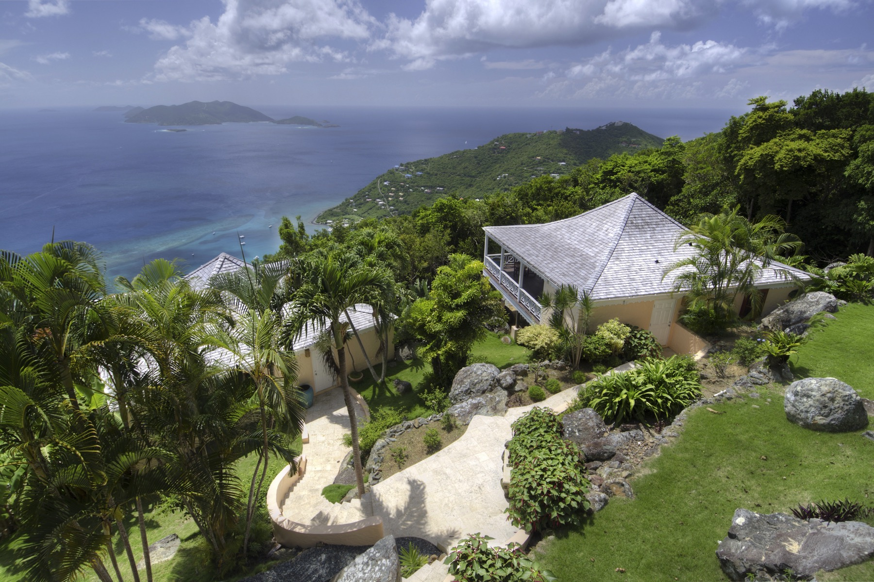 واحد منزل الأسرة للـ Sale في Shannon House Shannon, Tortola British Virgin Islands