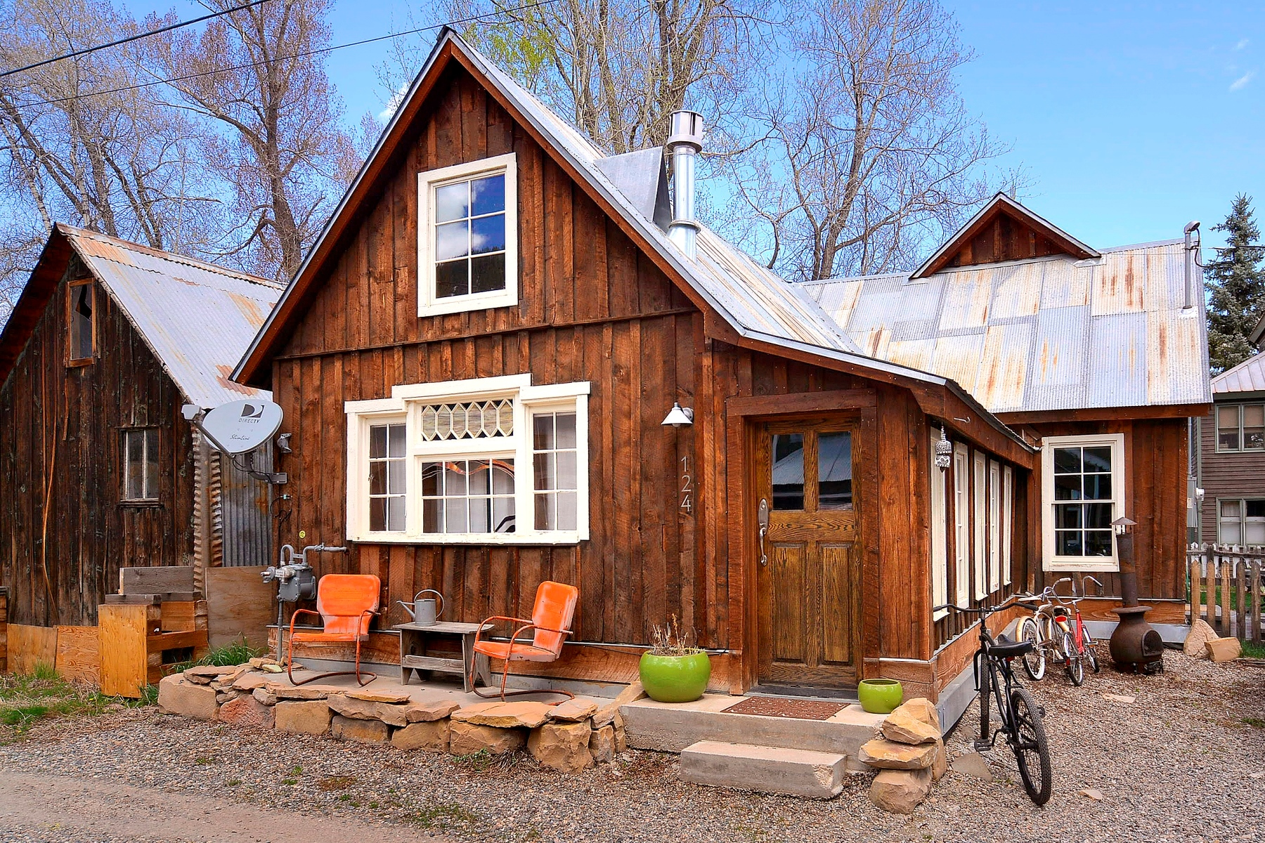 Single Family Home for Sale at Little Gem in the Heart of Town 124 Sopris Avenue Crested Butte, Colorado, 81224 United States