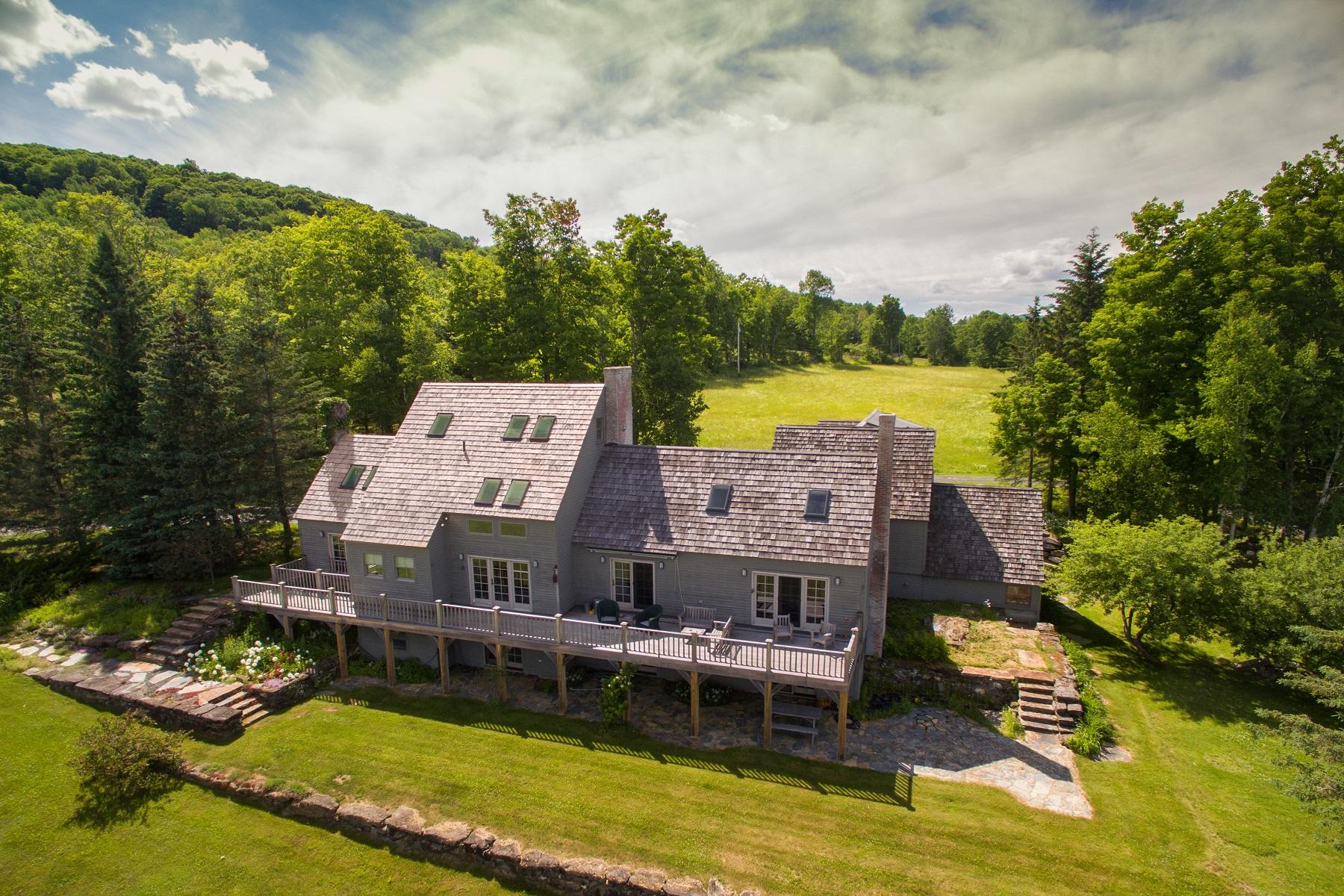 獨棟家庭住宅 為 出售 在 Upper Treehouse 1239 Peterkin Hill Road Woodstock, 佛蒙特州, 05091 美國