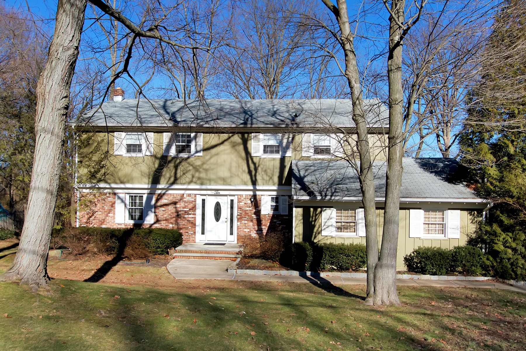 Single Family Home for Sale at Elegant Eton Colonial 10 Balmoral Avenue Matawan, New Jersey 07747 United States