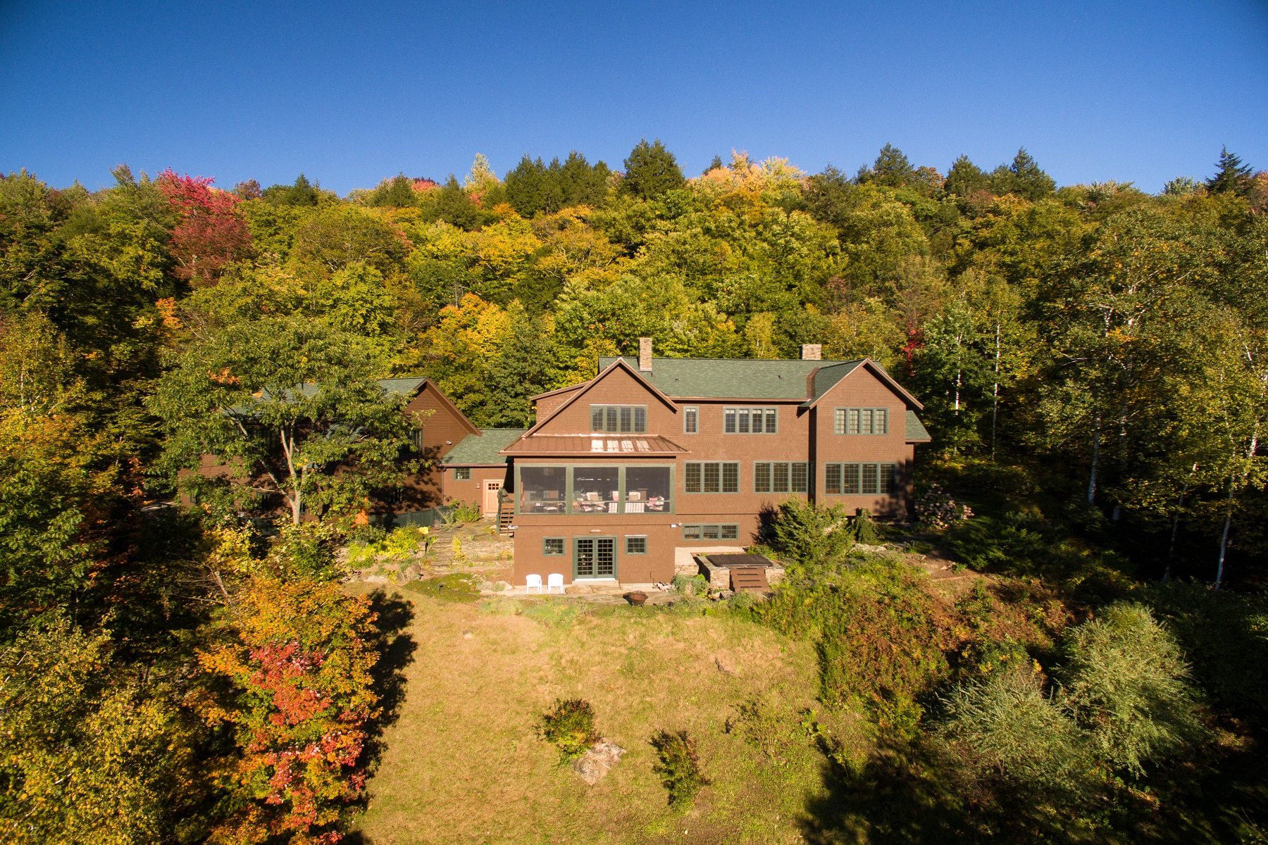 Single Family Home for Sale at Complete Privacy w/Extraordinary Views 53 Currier Road Mendon, Vermont, 05701 United States