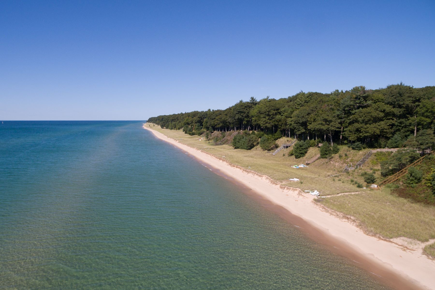Single Family Home for Sale at 90' Of Lake Michigan Frontage 2163 Scenic Drive Muskegon, Michigan 49445 United States
