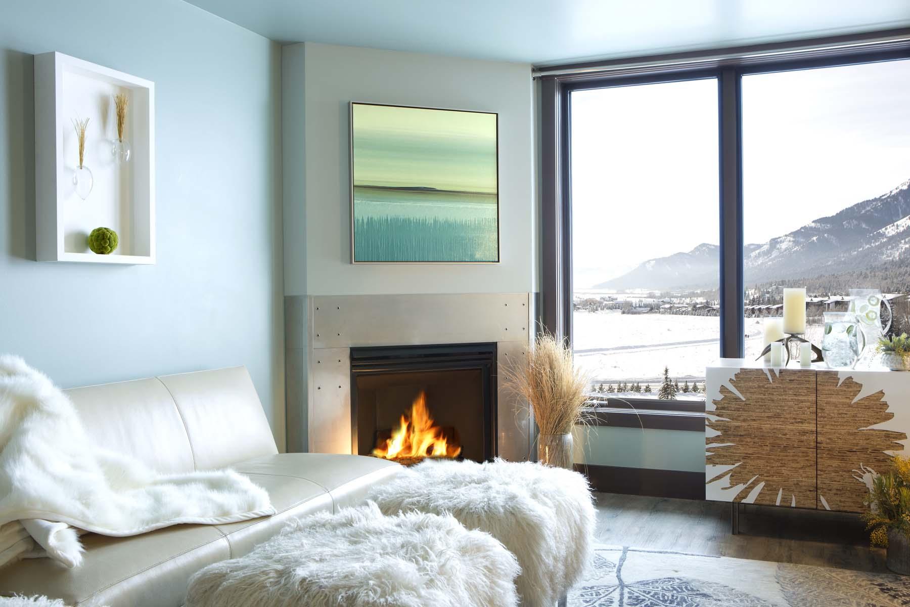 共管式独立产权公寓 为 销售 在 Slopeside Luxury in Hotel Terra 3335 W. Village Drive, unit 222 泰顿乡, 怀俄明州, 83025 Jackson Hole, 美国