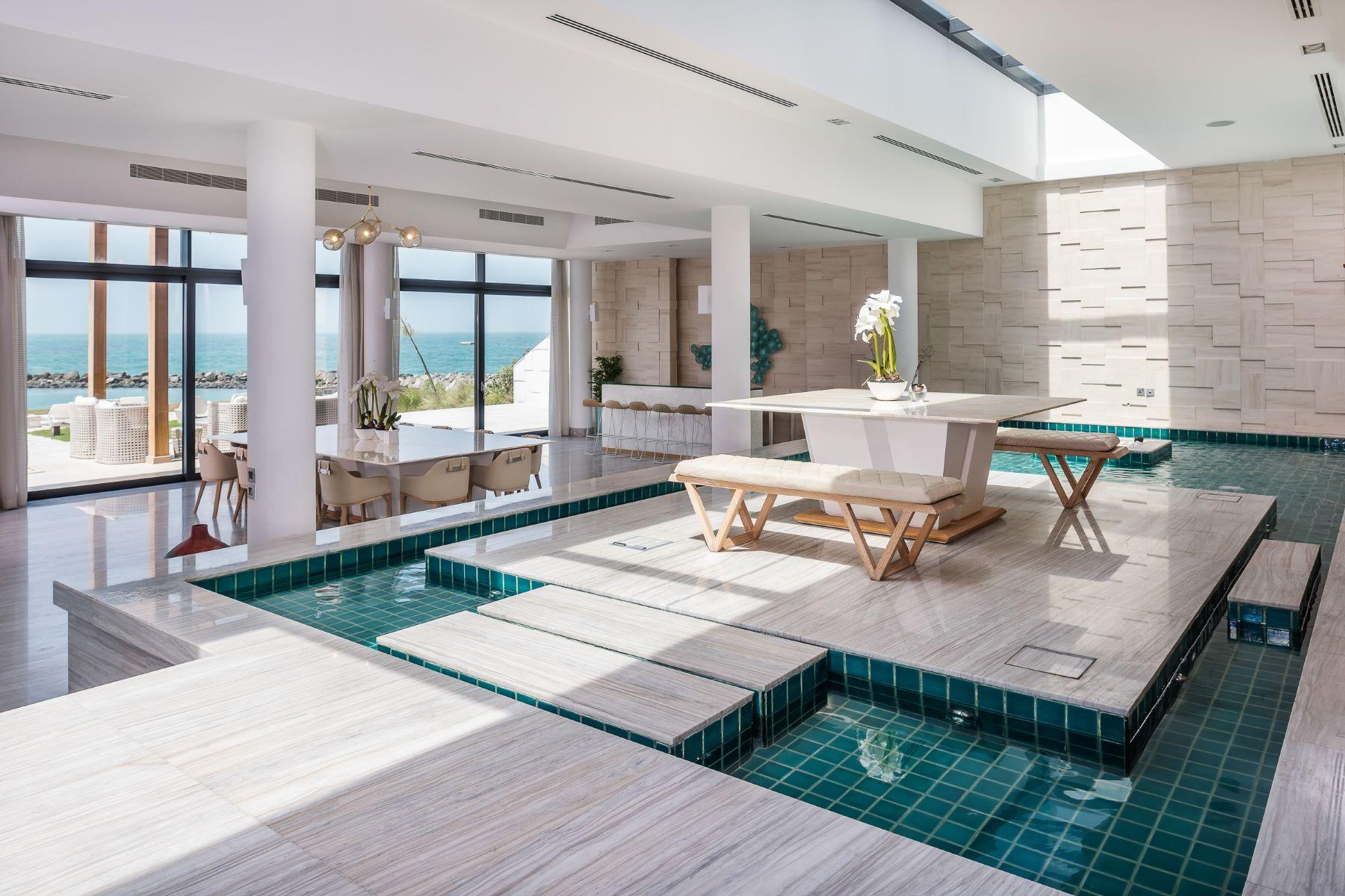 Single Family Home for Sale at Stunning Beach Front Estate Villa Nurai Island, Abu Dhabi, United Arab Emirates