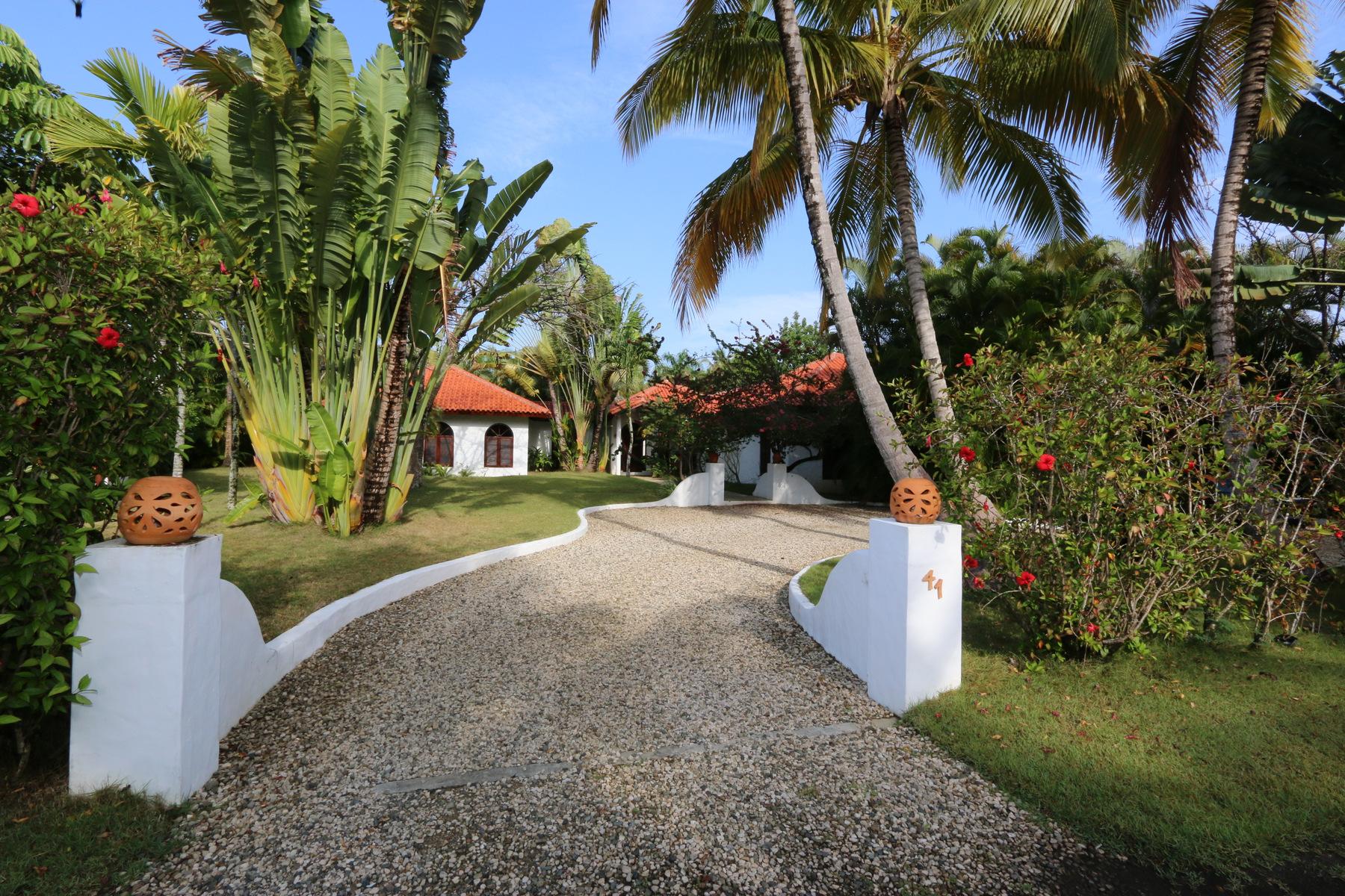 独户住宅 为 销售 在 Villa Suzanna Sea Horse Ranch 41 Cabarete, 普拉塔省, 57000 多米尼加共和国