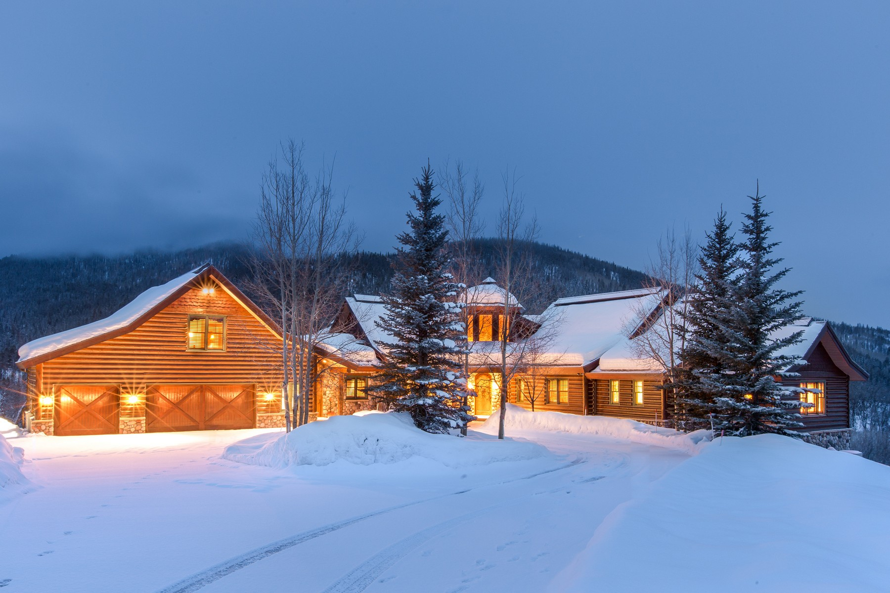 Single Family Home for Sale at Catamount Ranch 34200 Catamount Dr. Steamboat Springs, Colorado, 80487 United States