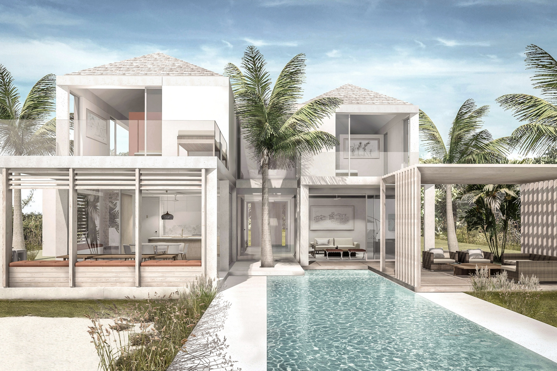 Single Family Home for Sale at Parallel Canalfront Lot 7 Blue Cay Estate, Leeward, Providenciales Turks And Caicos Islands