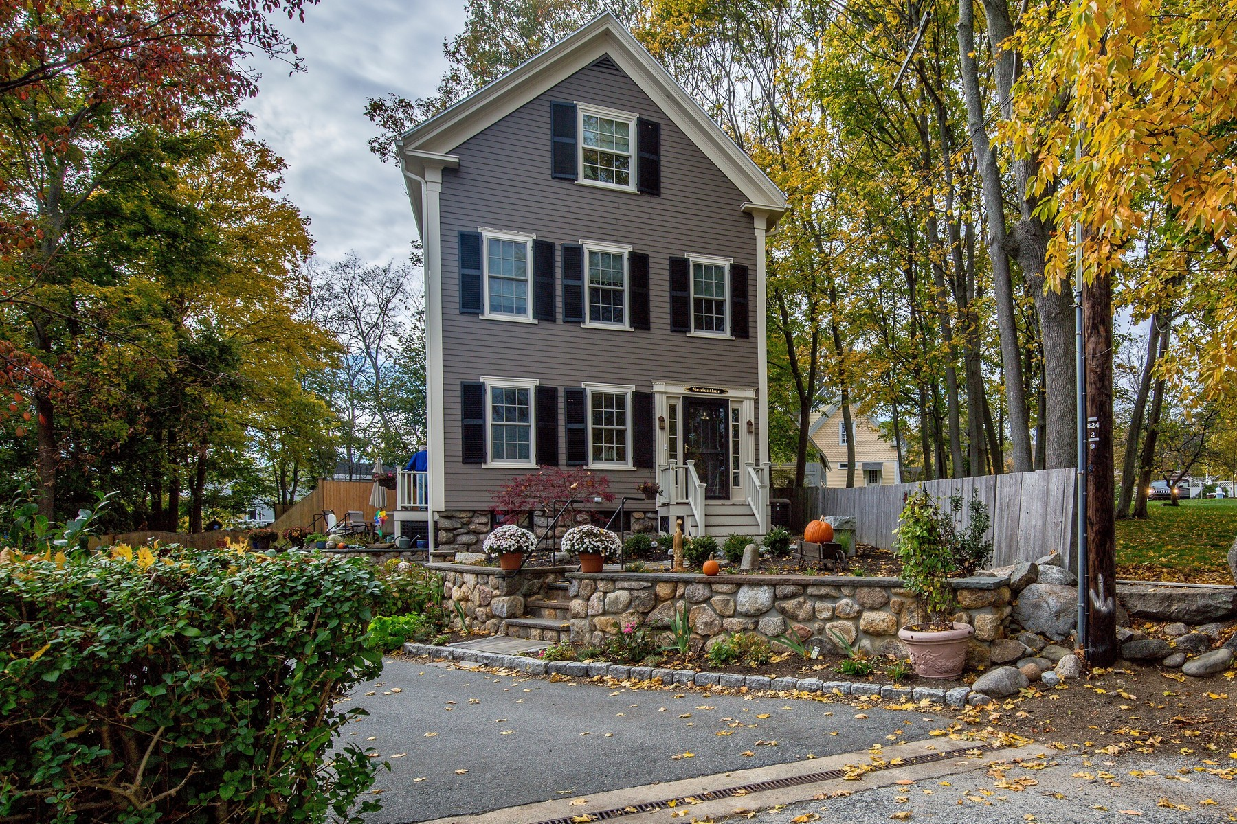 Single Family Home for Sale at Heart of Rockport Village 4 King Street Court Rockport, Massachusetts, 01966 United States