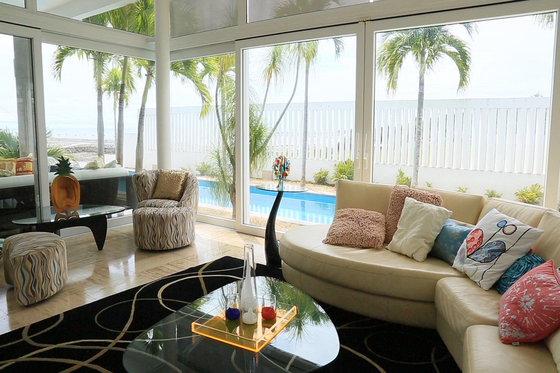 Single Family Home for Sale at ELEGANT OCEANFRONT HOUSE Panama City, Panama, Panama
