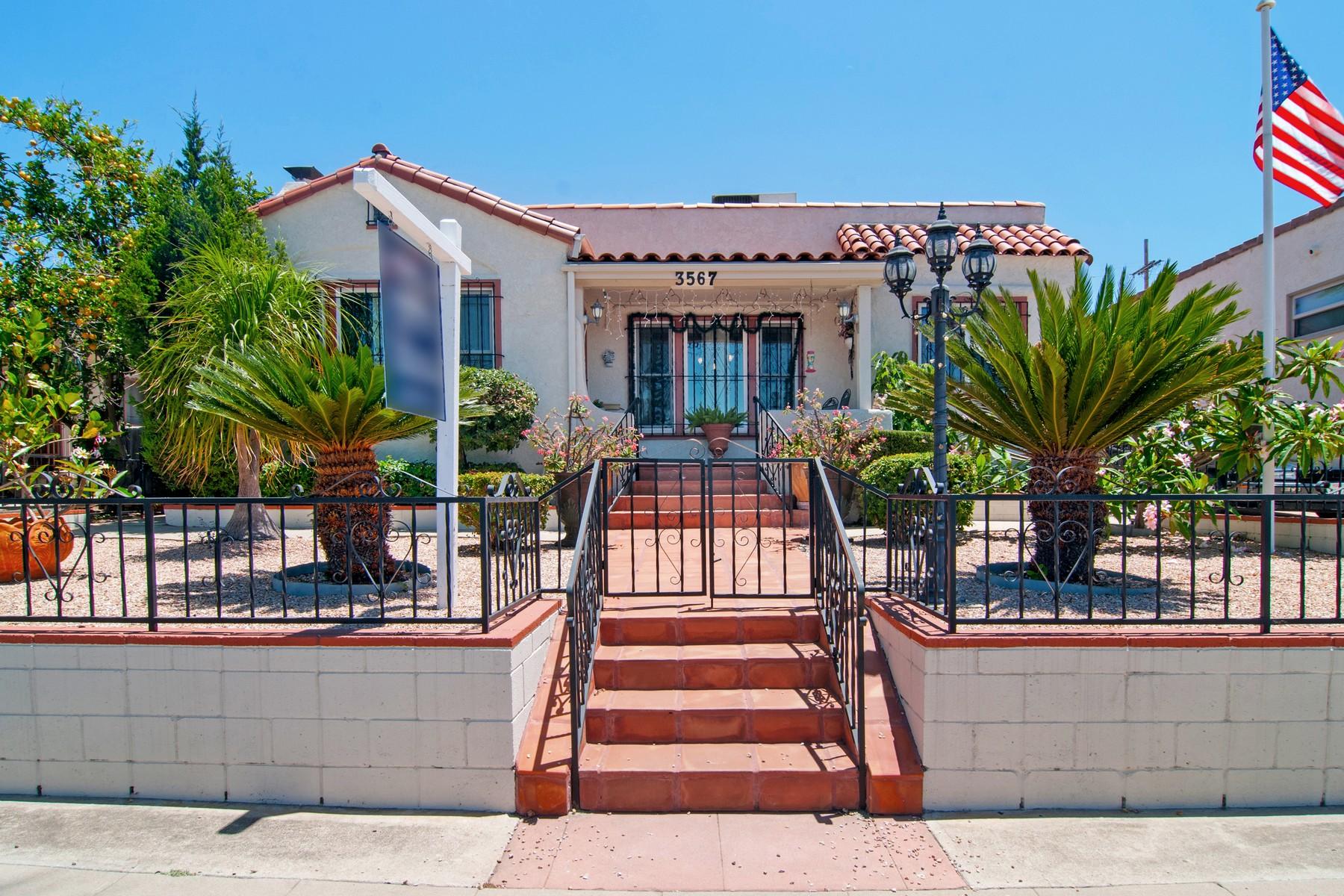 Casa para uma família para Venda às 3567 Villa Terrace North Park, San Diego, Califórnia, 92104 Estados Unidos