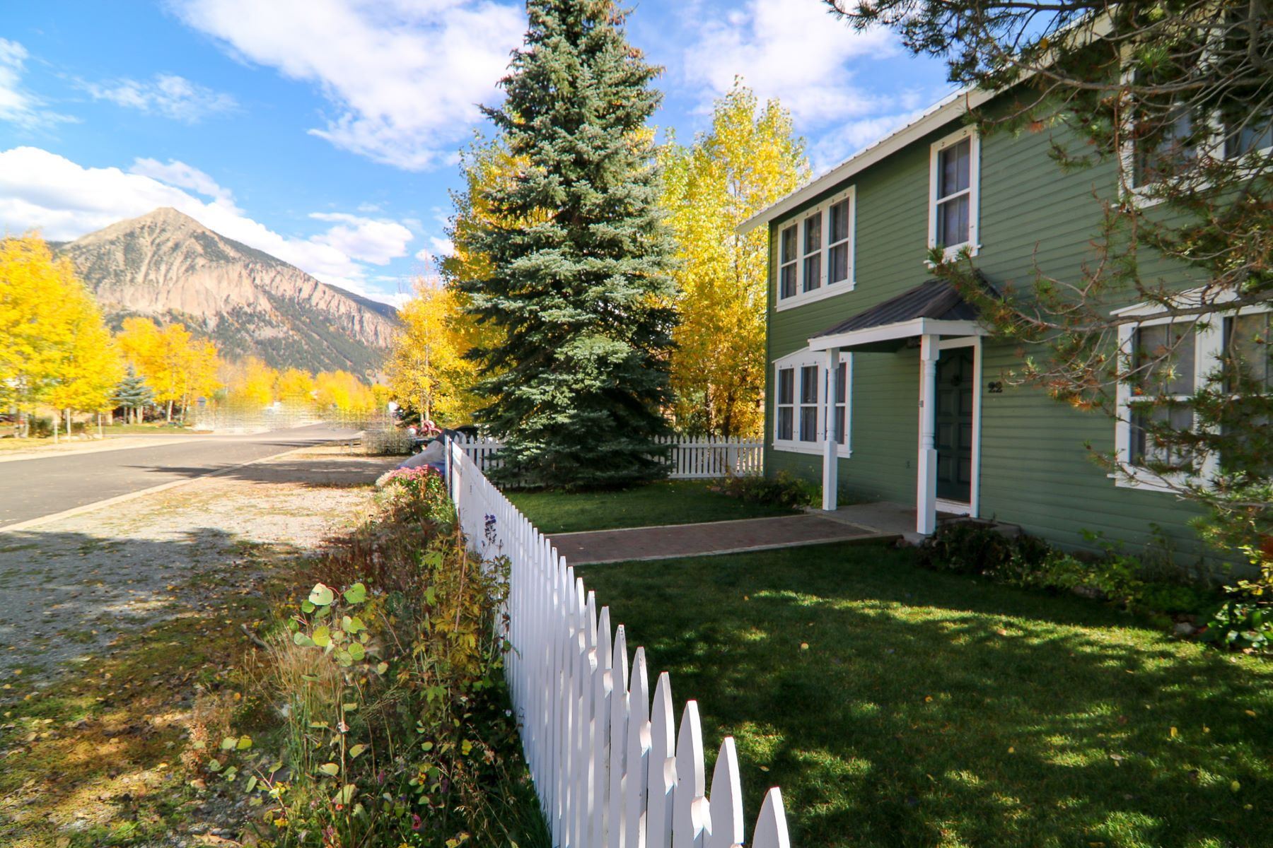 Single Family Home for Sale at Coveted West End Location 22 Teocalli Ave Crested Butte, Colorado, 81224 United States