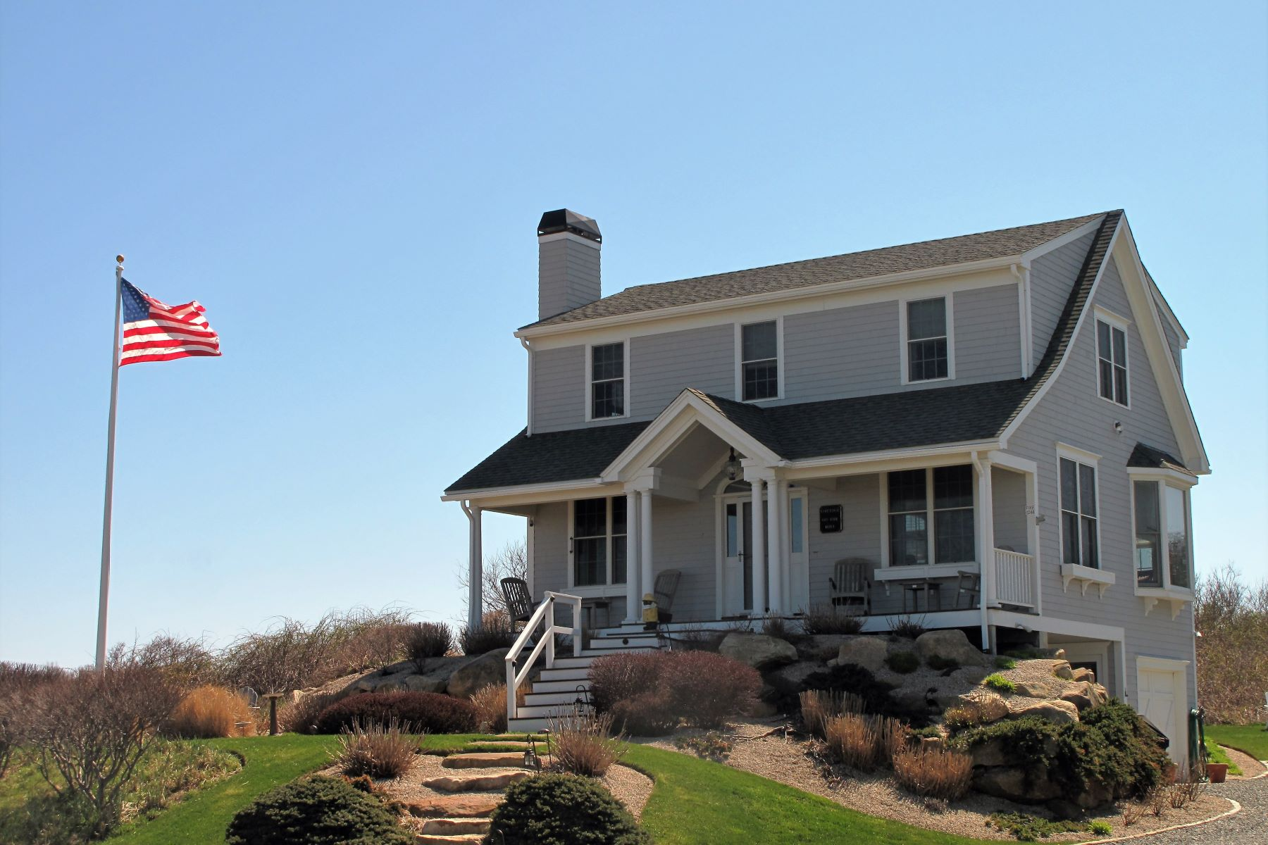 Single Family Home for Sale at Wonderful Atlantic Ocean Views 244 Spring Street, Block Island, Rhode Island, 02807 United States