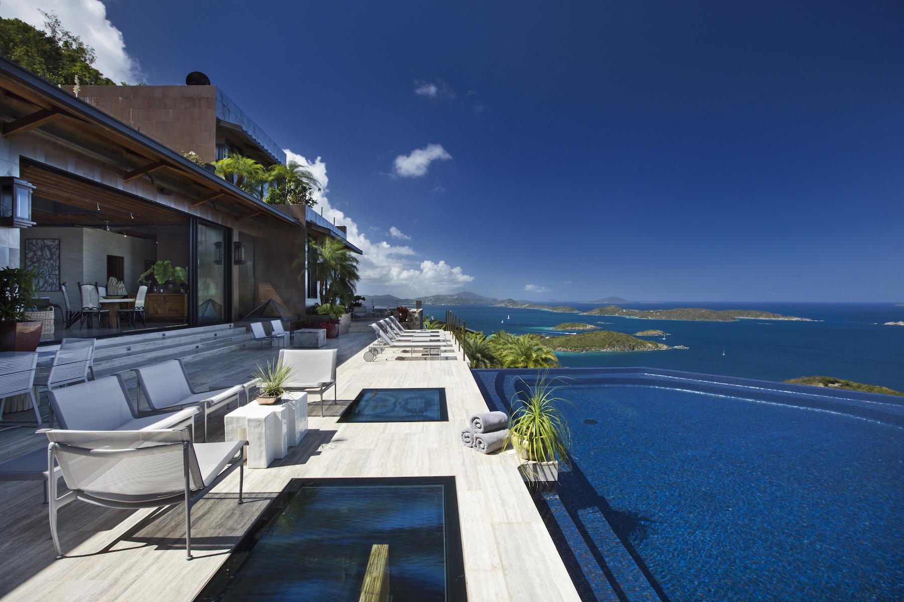 独户住宅 为 出租 在 Villa Solenborg 圣约翰, 维京群岛 00830 美属维尔京群岛