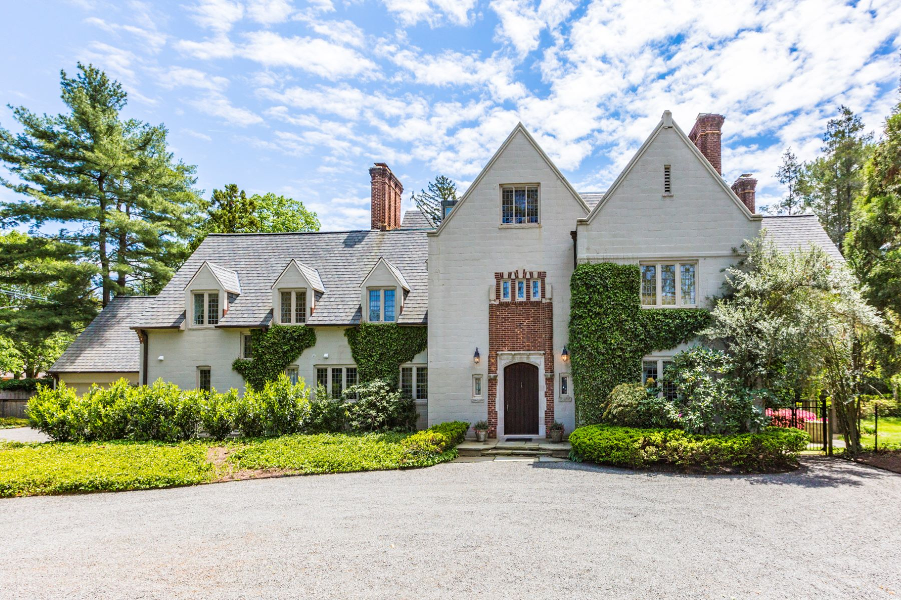 sales property at Normandy-inspired Manor in Princeton