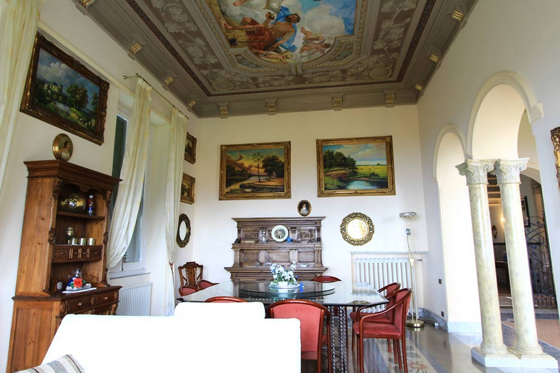 Additional photo for property listing at Art Noveau villa with awe-inspiring views Via XXV Aprile Camogli, Genoa 16032 Italy