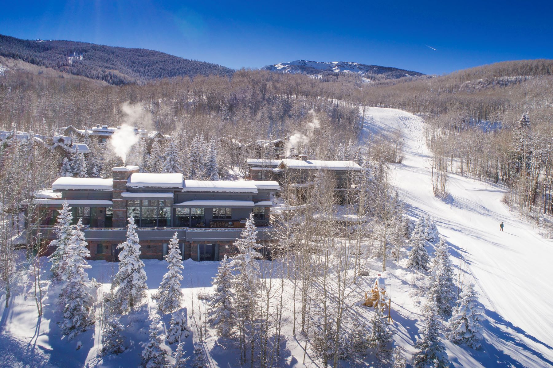 Maison unifamiliale pour l Vente à Slopeside Estate 183 E. Fork Lane Snowmass Village, Colorado, 81615 États-Unis