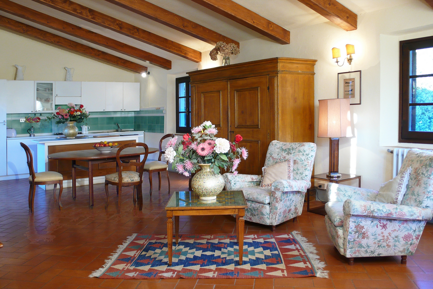 Additional photo for property listing at Apartment in Historic Villa Montespertoli, Florence Italia