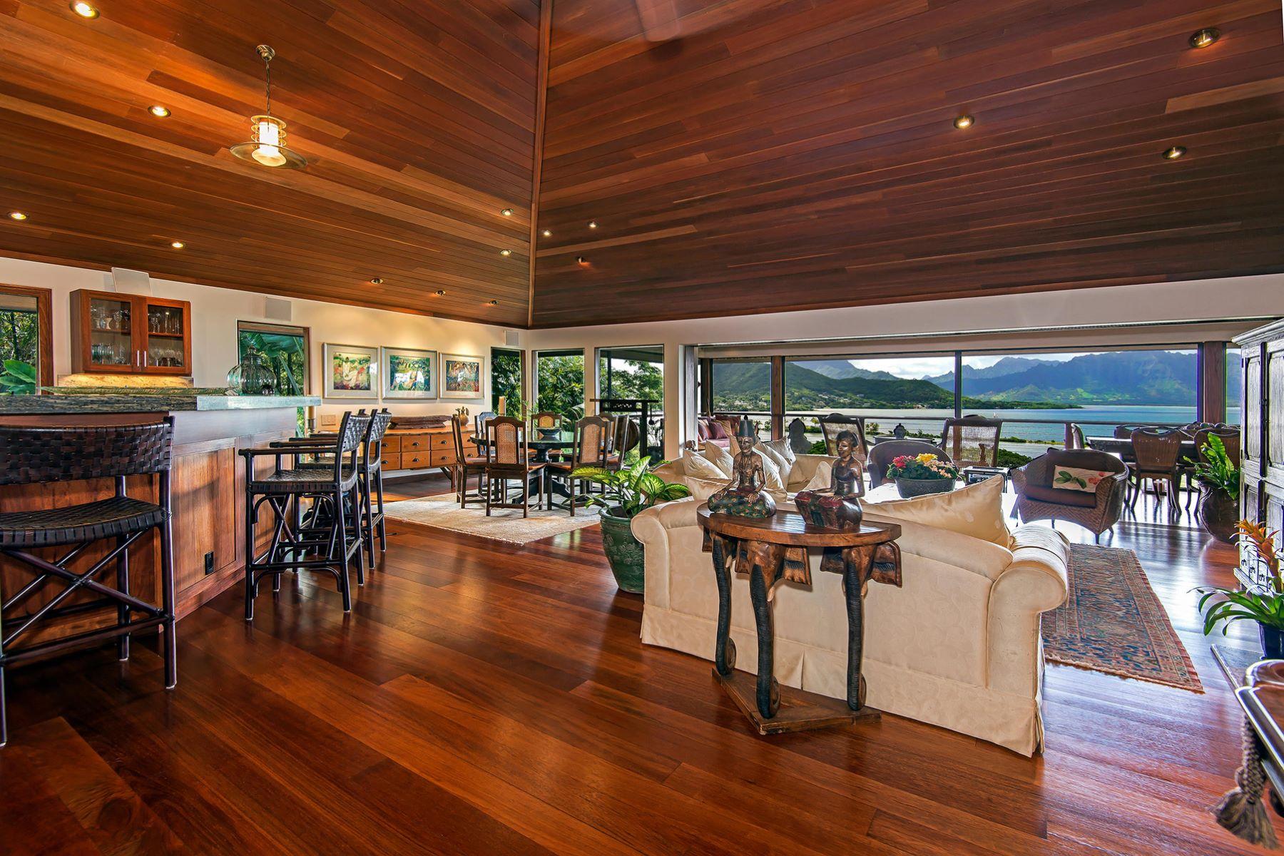 Single Family Home for Sale at Expansive Ocean Views from Spectacular Lulani 47-465 Lulani Street Kaneohe, Hawaii 96744 United States