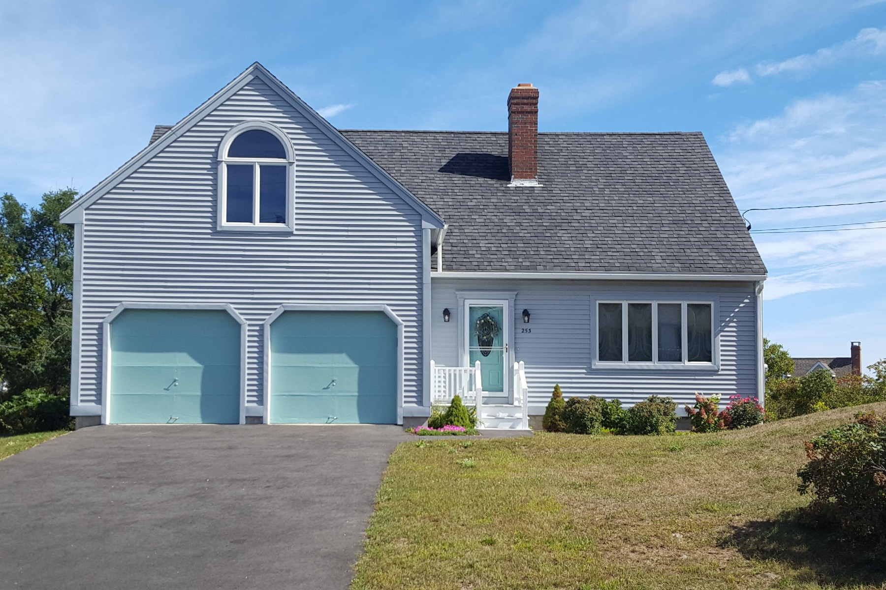 Single Family Home for Sale at Cape on The Nubble with Ocean Views 253 Nubble Road York, Maine, 03909 United States