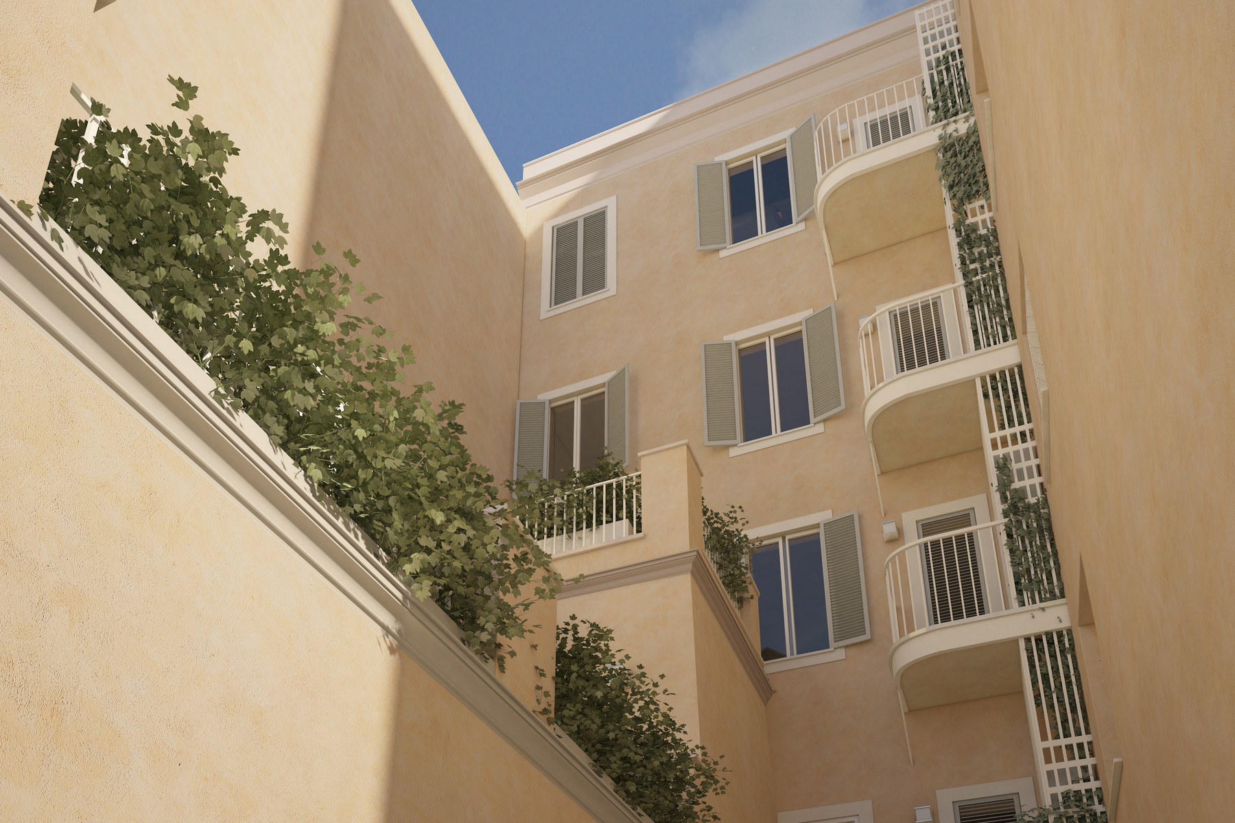 Additional photo for property listing at Apartments in the historic Valenti building, totally renovated Via dei Serpenti Rome, Rome 00184 Italy