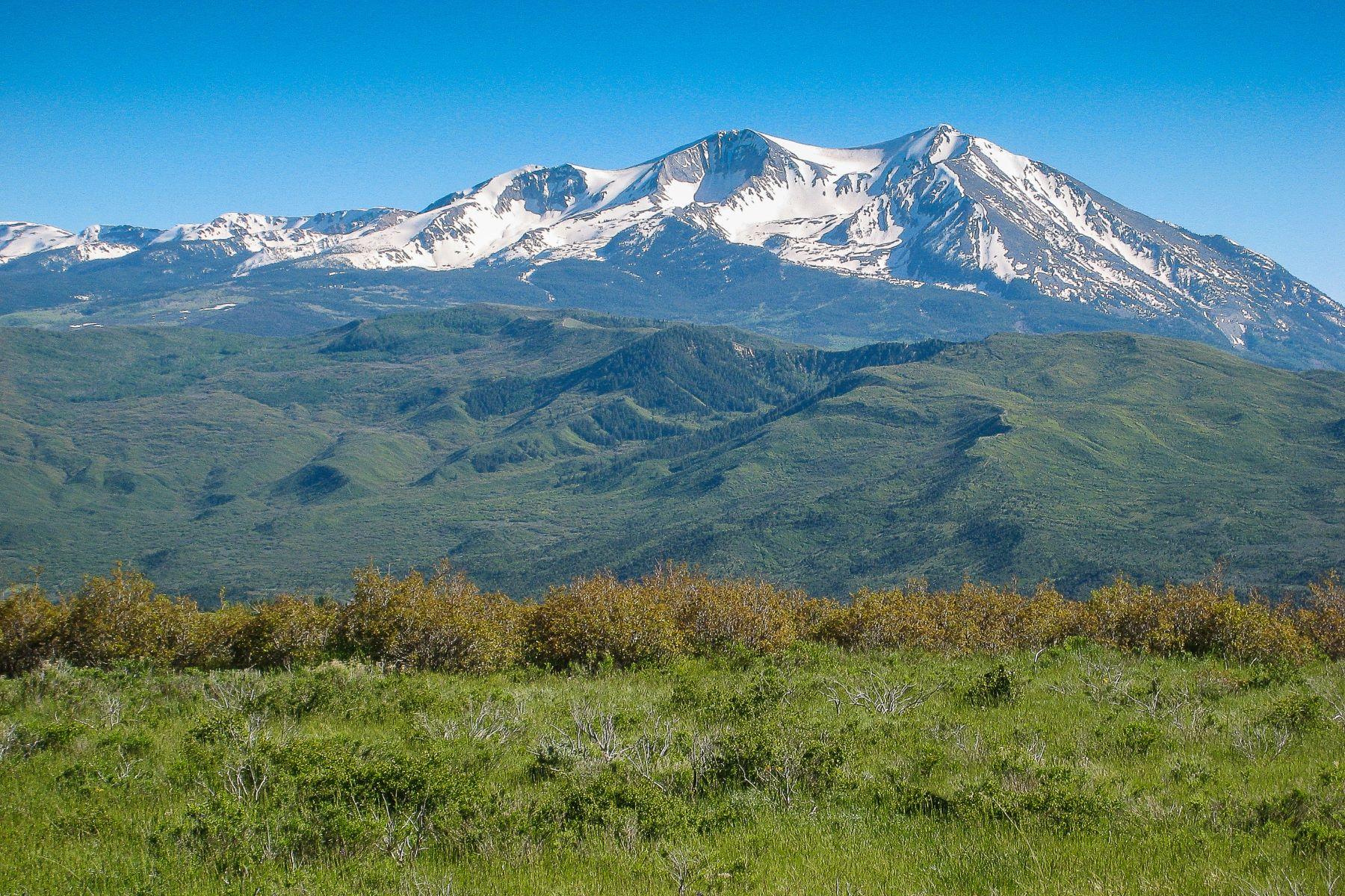 Terrain pour l Vente à Stunning Views and Fantastic Location 544 Spring Park Road Carbondale, Colorado, 81623 États-Unis